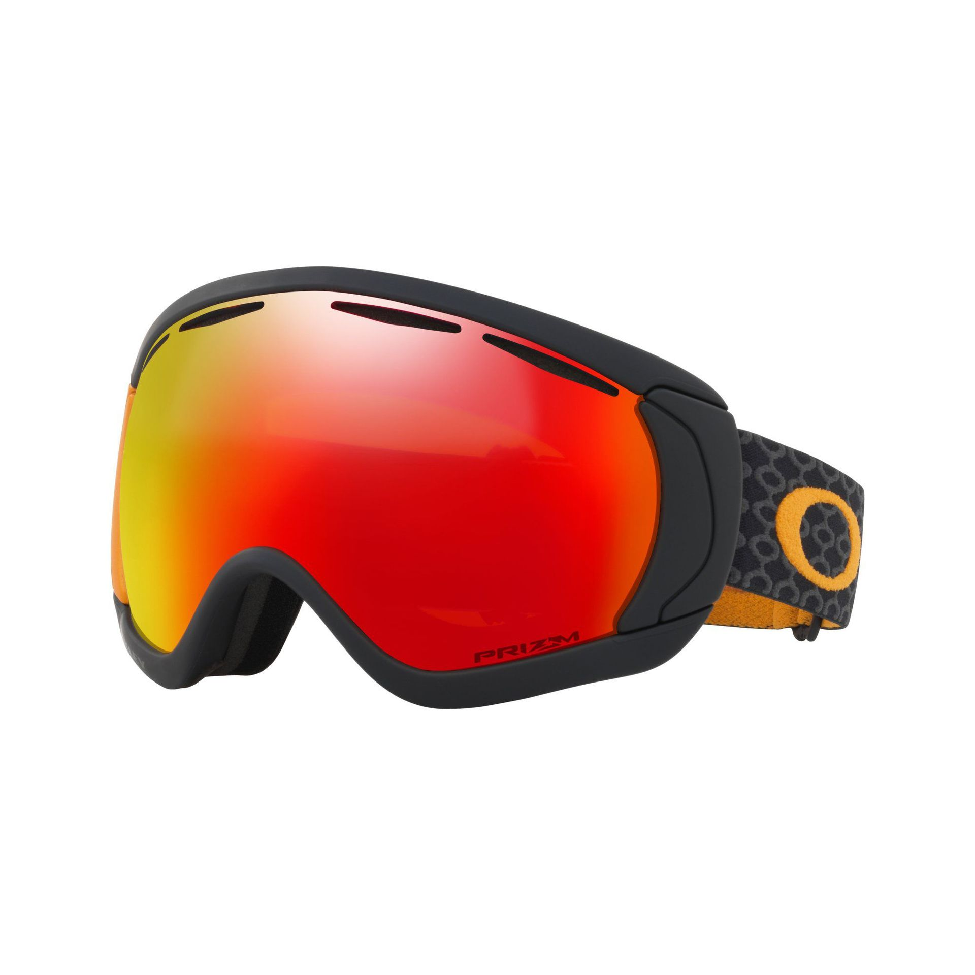 GOGLE OAKLEY CANOPY SKYGGER BLACK ORANGE PRIZM TORCH IRIDIUM 1