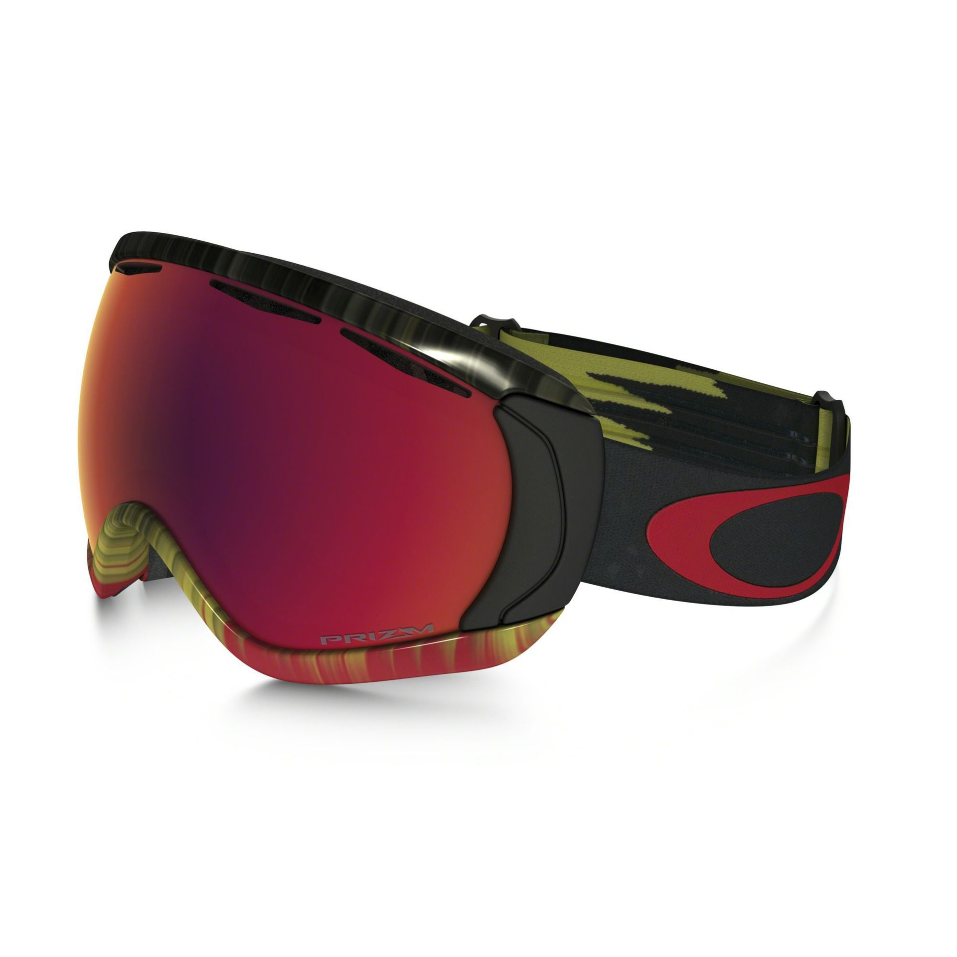 GOGLE OAKLEY CANOPY WET DRY FIRE GREEN PRIZM TORCH IRIDIUM