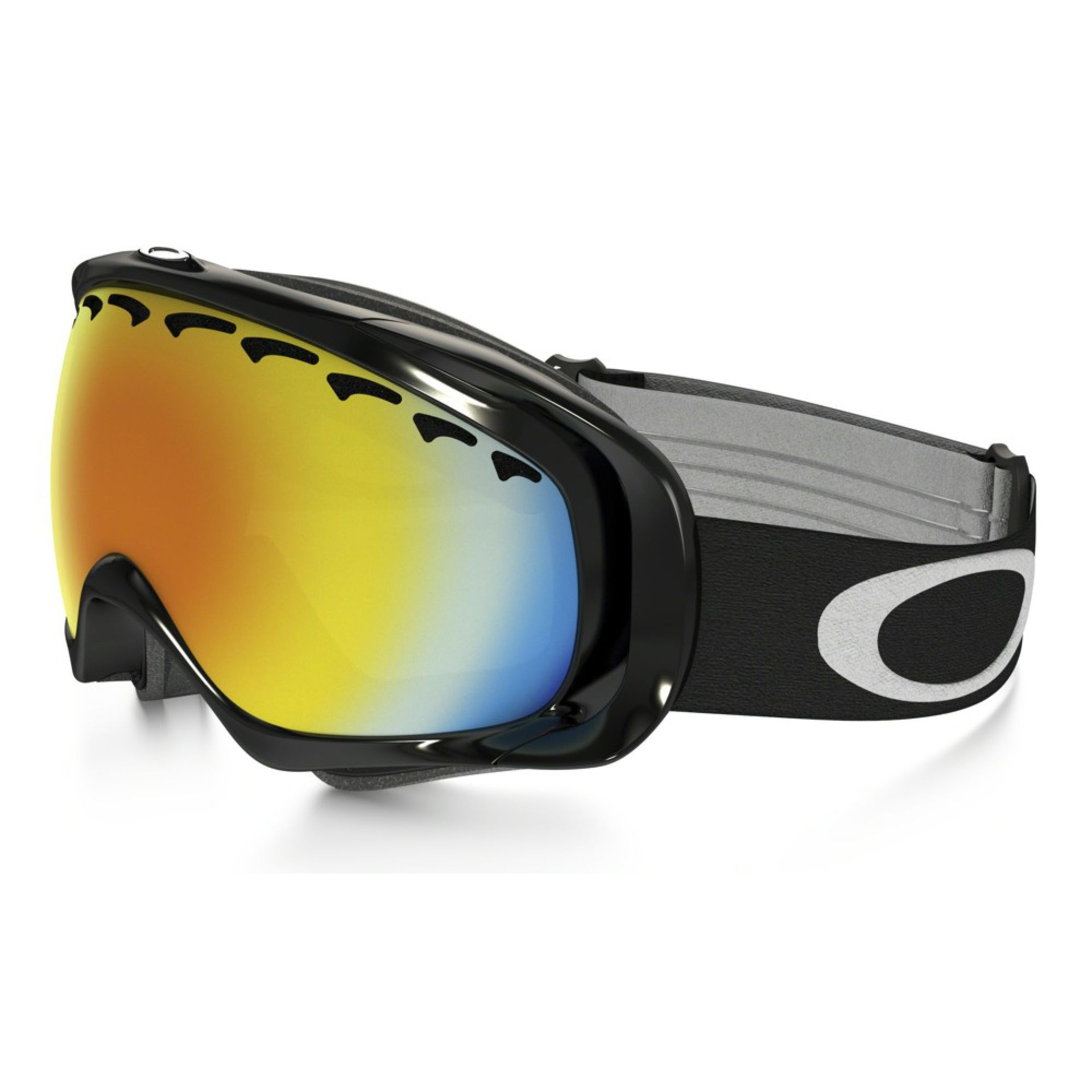 GOGLE OAKLEY CROWBAR JET BLACK FIRE IRIDIUM
