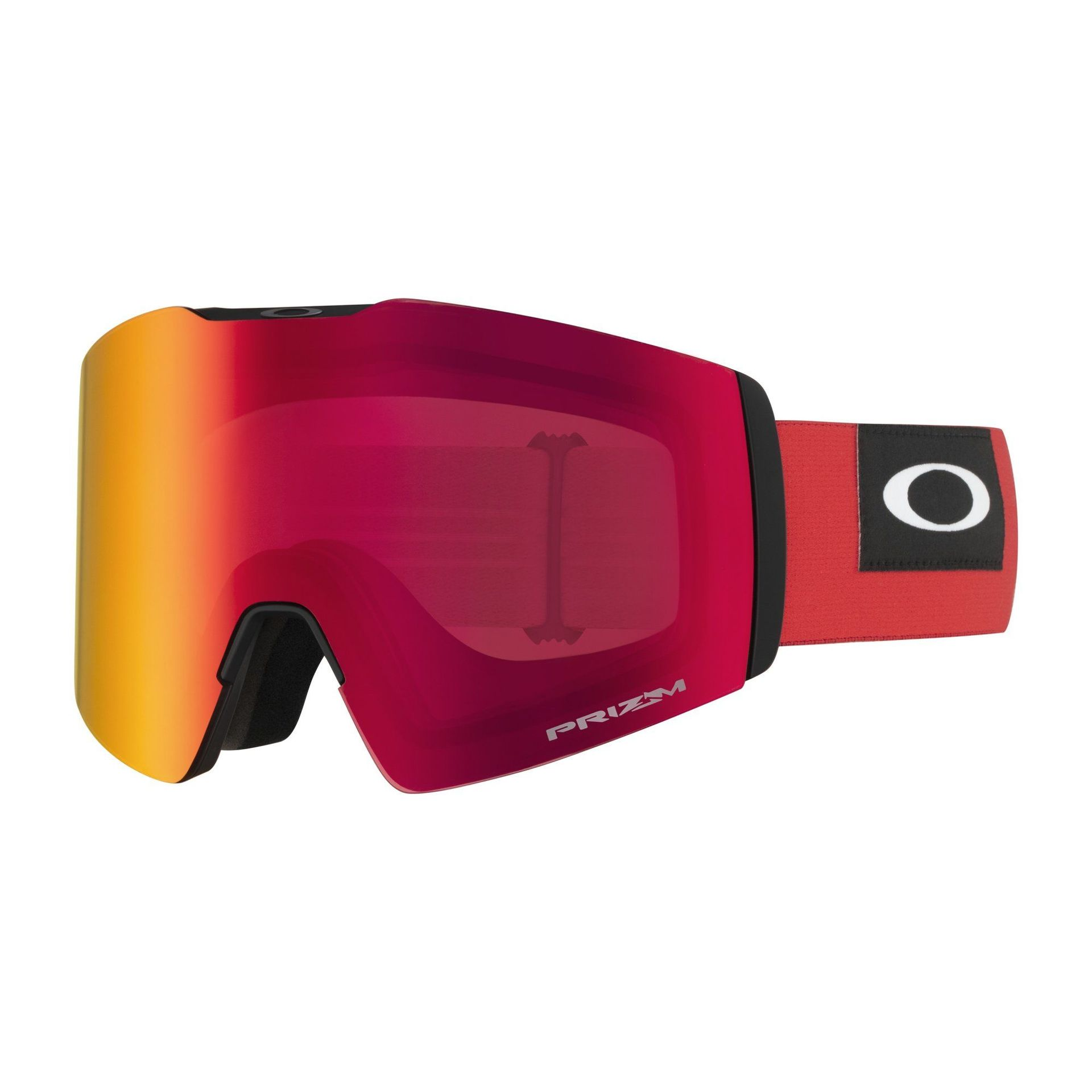 GOGLE OAKLEY FALL LINE XL BLOCKEDOUT RED|PRIZM SNOW TORCH IRIDIUM 1