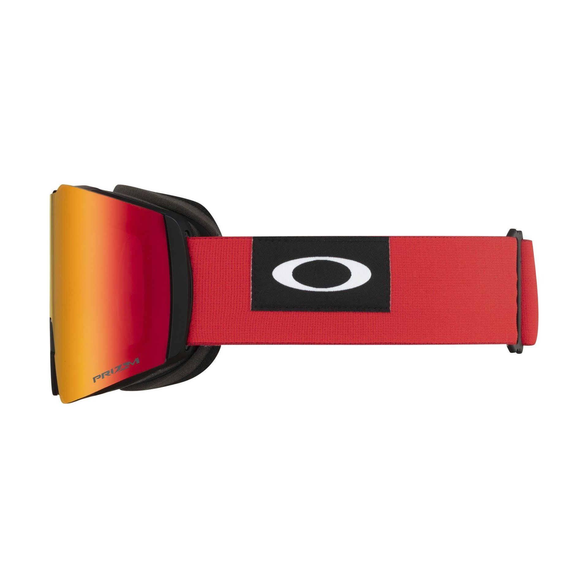 GOGLE OAKLEY FALL LINE XL BLOCKEDOUT RED|PRIZM SNOW TORCH IRIDIUM 4