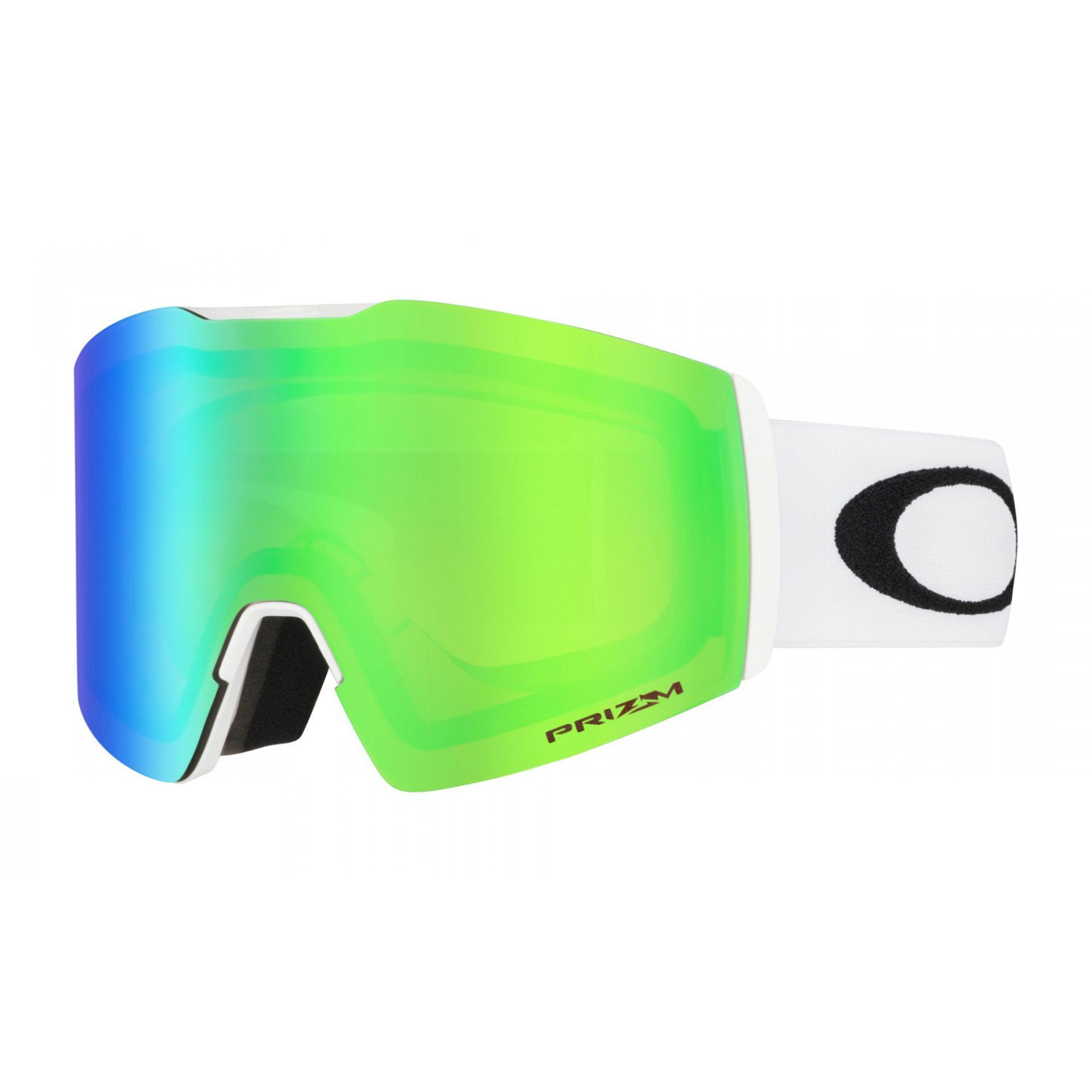 GOGLE OAKLEY FALL LINE XL MATTE WHITE|PRIZM SNOW JADE IRIDIUM 1