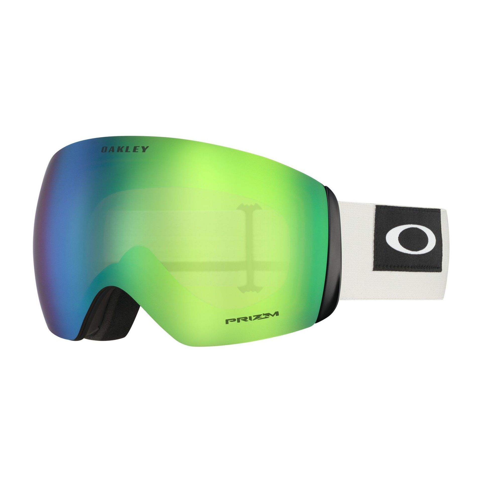 GOGLE OAKLEY FLIGHT DECK BLOCKEDOUT DARK BRUSH GREY|PRIZM SNOW JADE IRIDIUM 1
