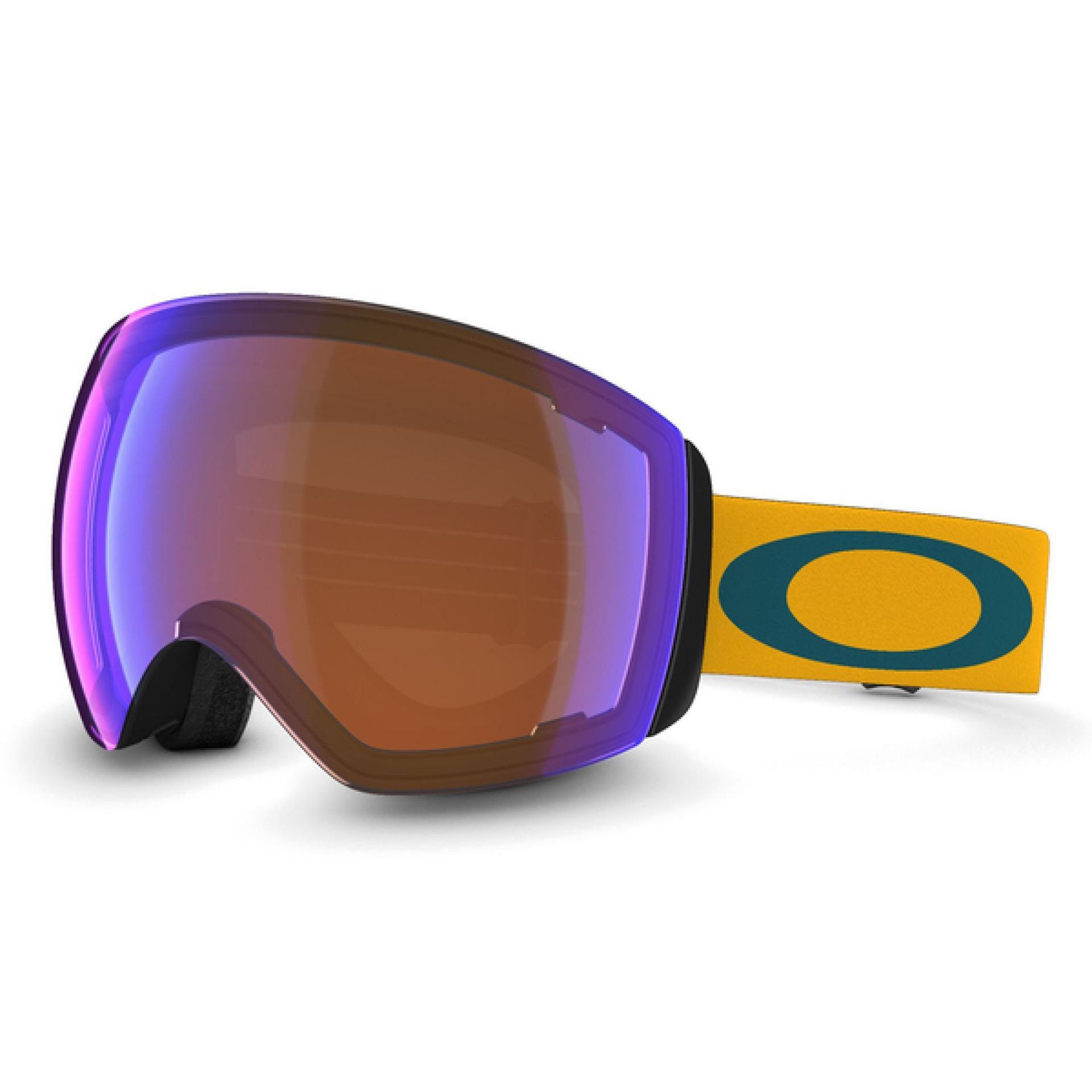 GOGLE OAKLEY FLIGHT DECK BRIGHT ORANGE|BLUE IRIDIUM 1