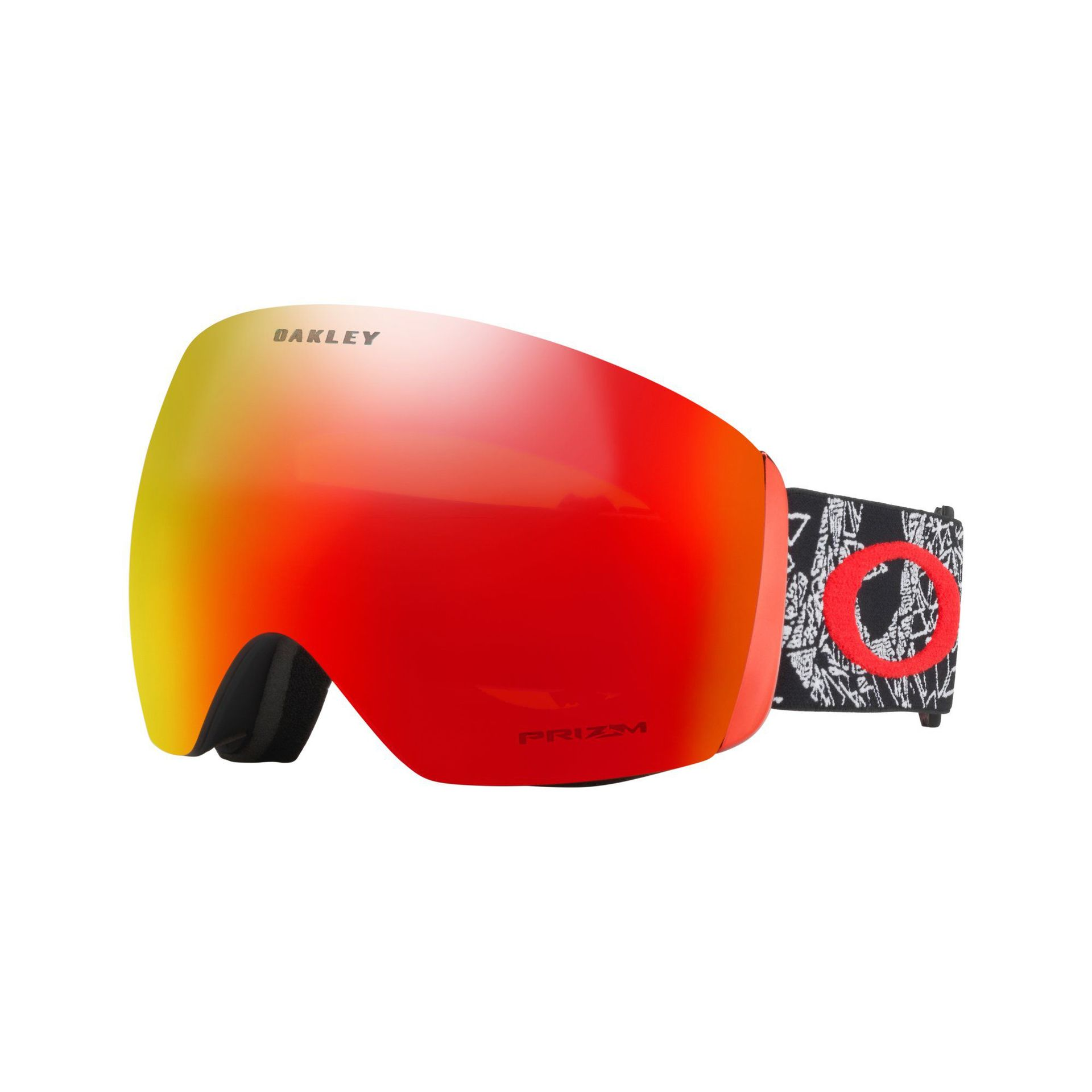 GOGLE OAKLEY FLIGHT DECK CRANEOS MUERTOS PRIZM TORCH IRIDIUM 1