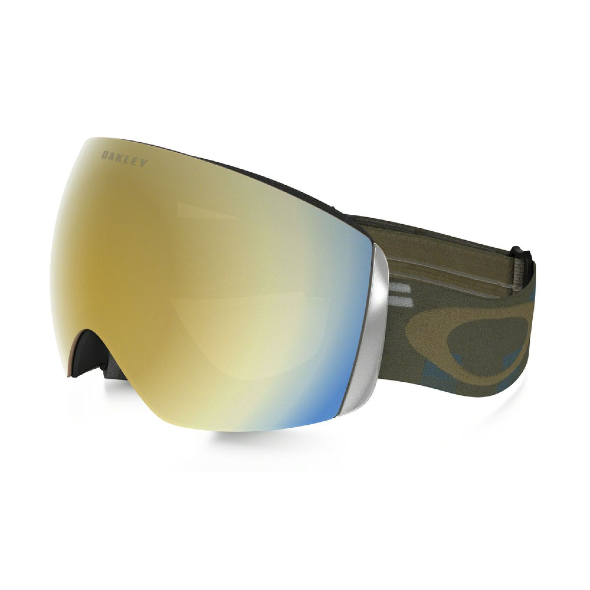 GOGLE OAKLEY FLIGHT DECK  DISRUPTIVE BLUE COPPER 24K IRIDIUM