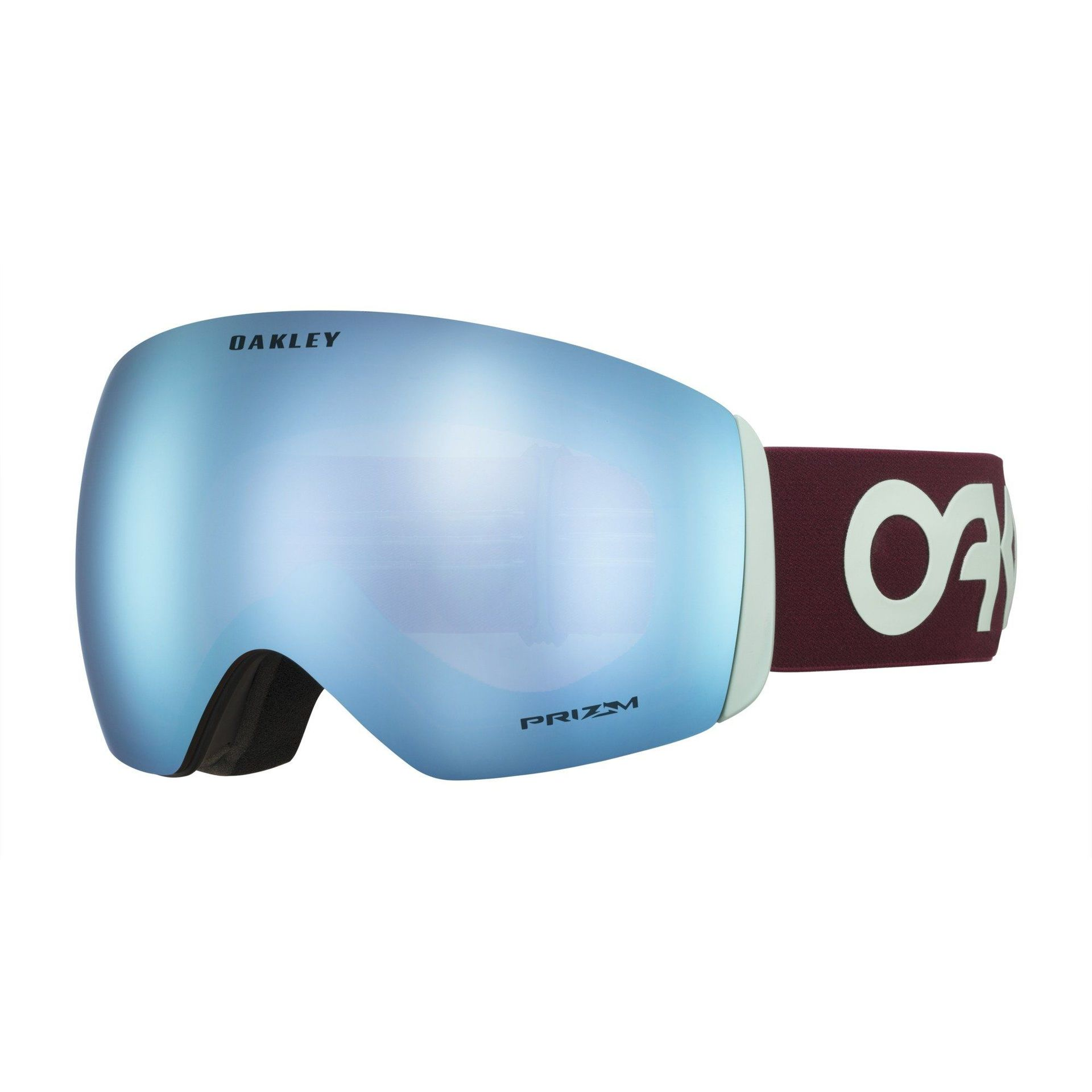 GOGLE OAKLEY FLIGHT DECK FACTORY PILOT PROGRESSION|PRIZM SNOW SAPPHIRE IRIDIUM 1