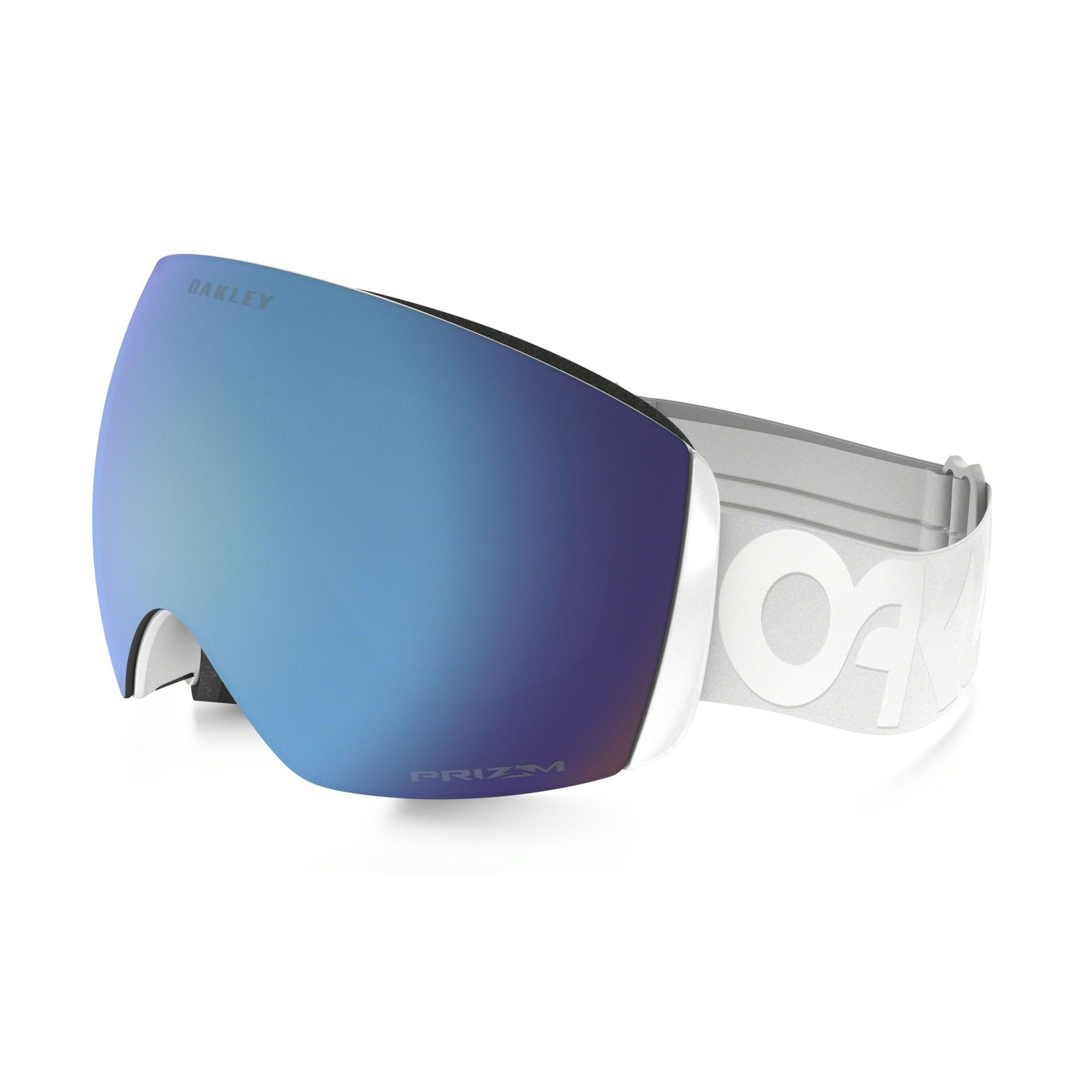 GOGLE OAKLEY FLIGHT DECK FACTORY PILOT WHITEOUT PRIZM SAPPHIRE IRIDIUM