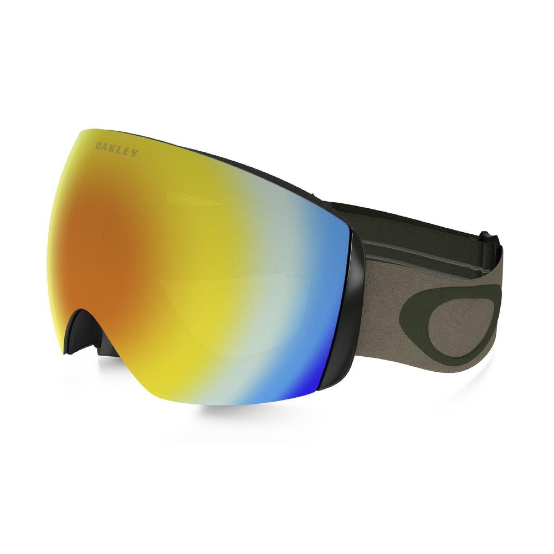 GOGLE OAKLEY FLIGHT DECK HERB KHAKI FIRE IRIDIUM