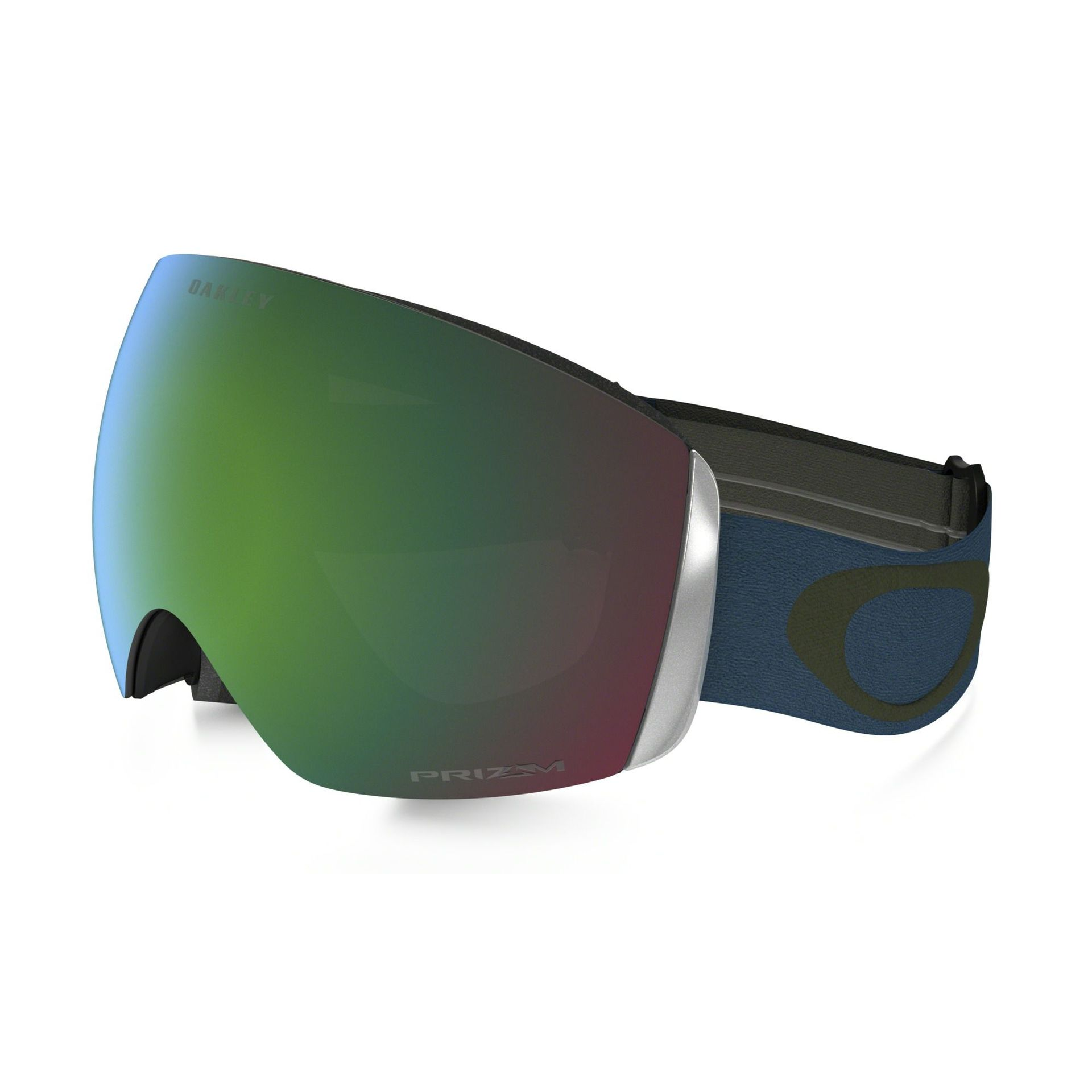 GOGLE OAKLEY FLIGHT DECK LEGION BLUE GREEN PRIZM JADE IRIDIUM