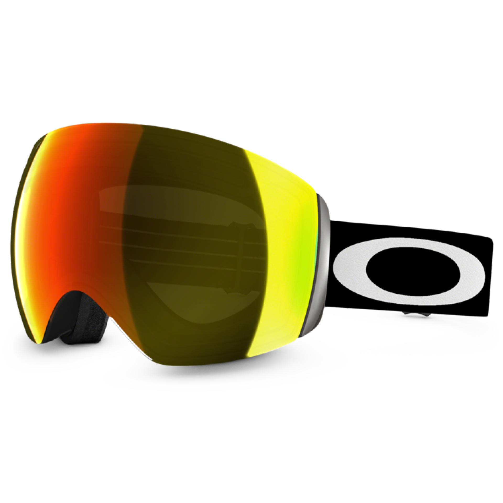 GOGLE OAKLEY FLIGHT DECK MATT BLACK|FIRE IRIDIUM 1
