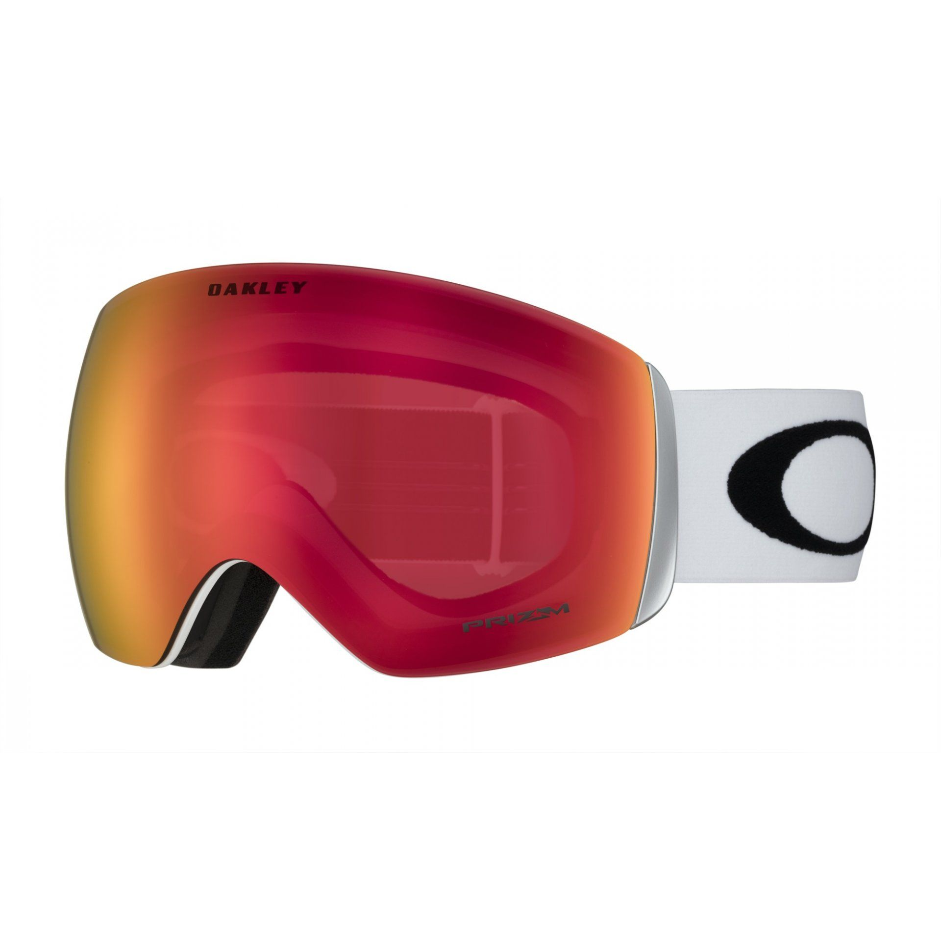 GOGLE OAKLEY FLIGHT DECK MATTE WHITE|PRIZM SNOW TORCH IRIDIUM 1