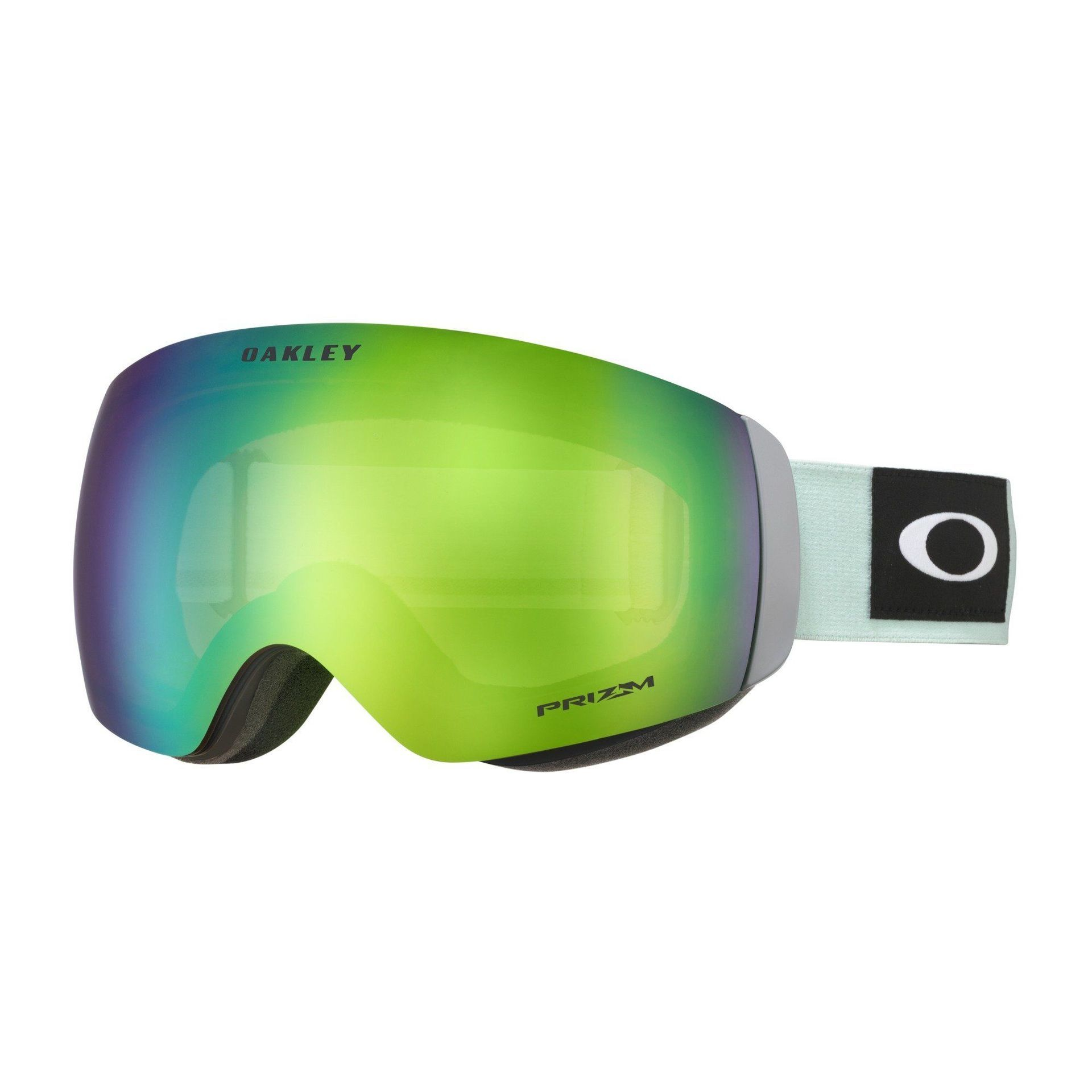 GOGLE OAKLEY FLIGHT DECK XM BLOCKEDOUT JASMINE|PRIZM SNOW JADE IRIDIUM 1