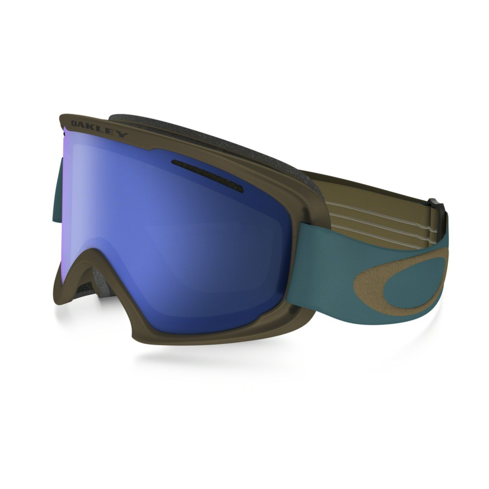 GOGLE OAKLEY FLIGHT DECK XM  COPPER AURORA BLUE BLACK ICE IRIDIUM