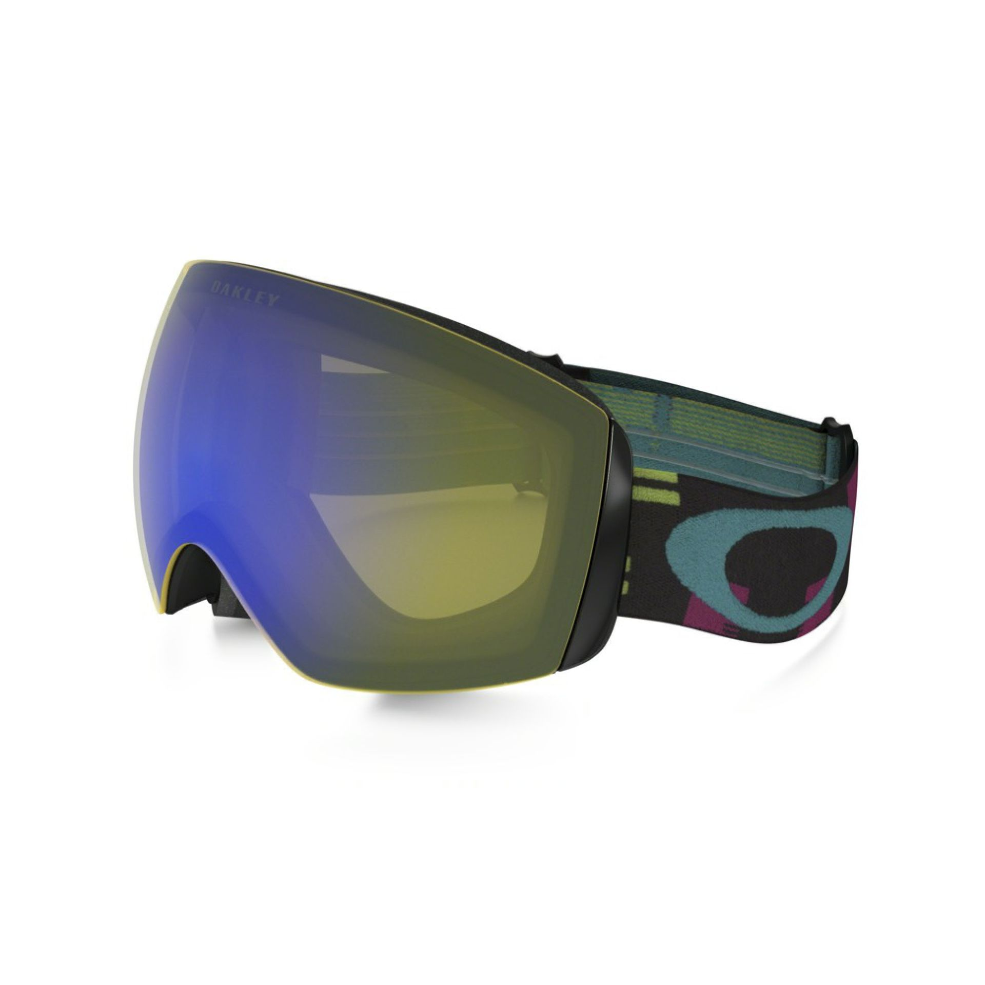 GOGLE OAKLEY FLIGHT DECK XM DISRUPTIVE NEON HI YELLOW IRIDIUM