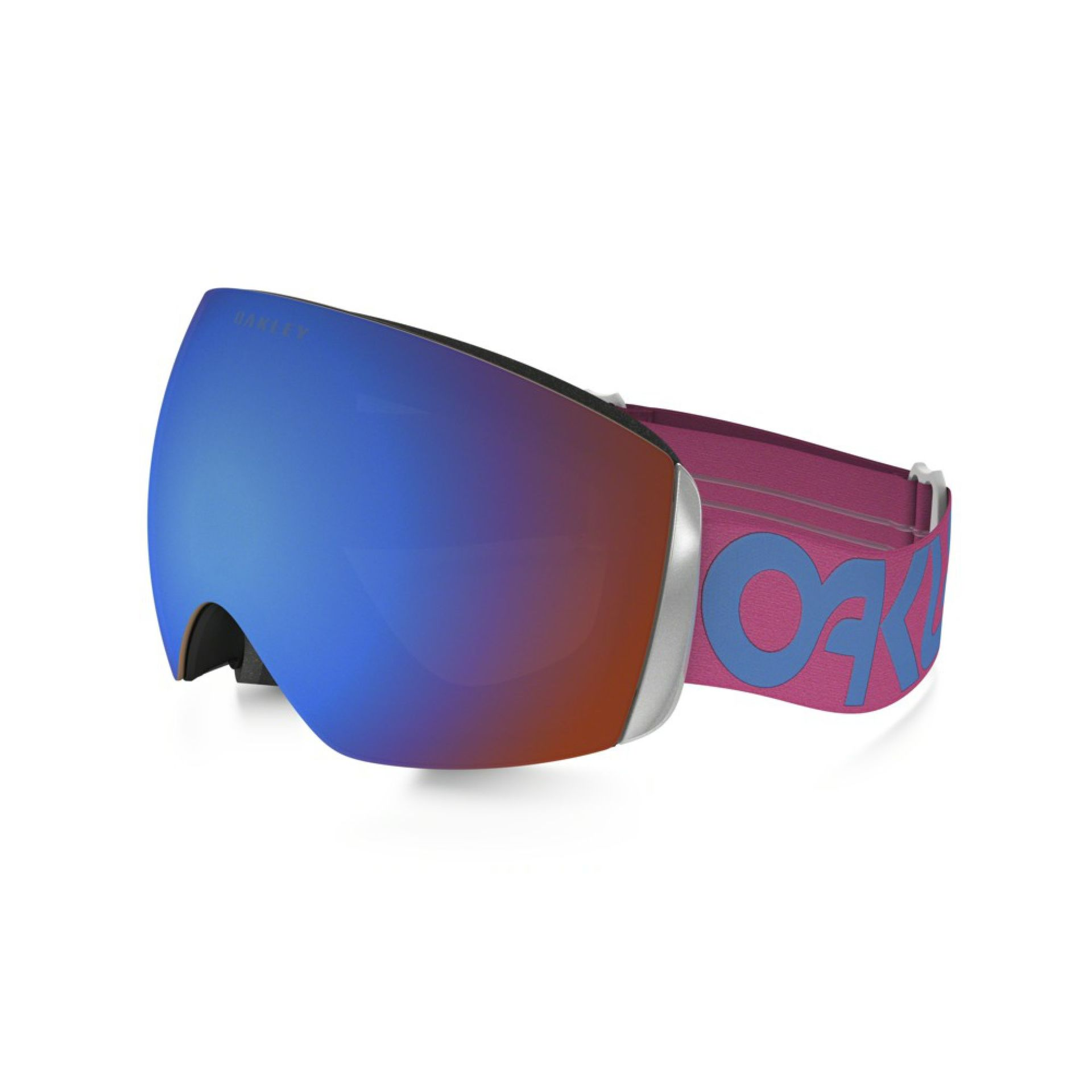 GOGLE OAKLEY FLIGHT DECK XM FACTORY PILOT PINK BLUE PRIZM SAPPHIRE IRIDIUM 1