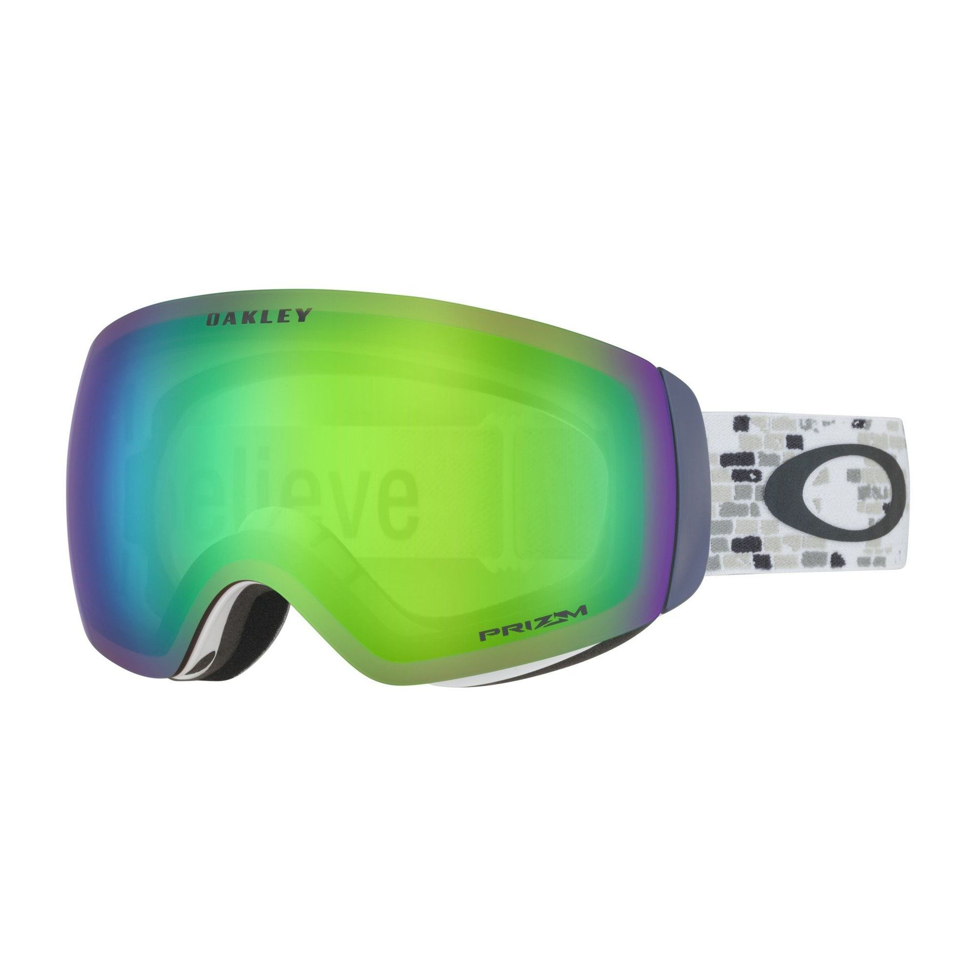 GOGLE OAKLEY FLIGHT DECK XM LINDSEY VONN BRICK WALL|PRIZM SNOW JADE IRIDIUM 1