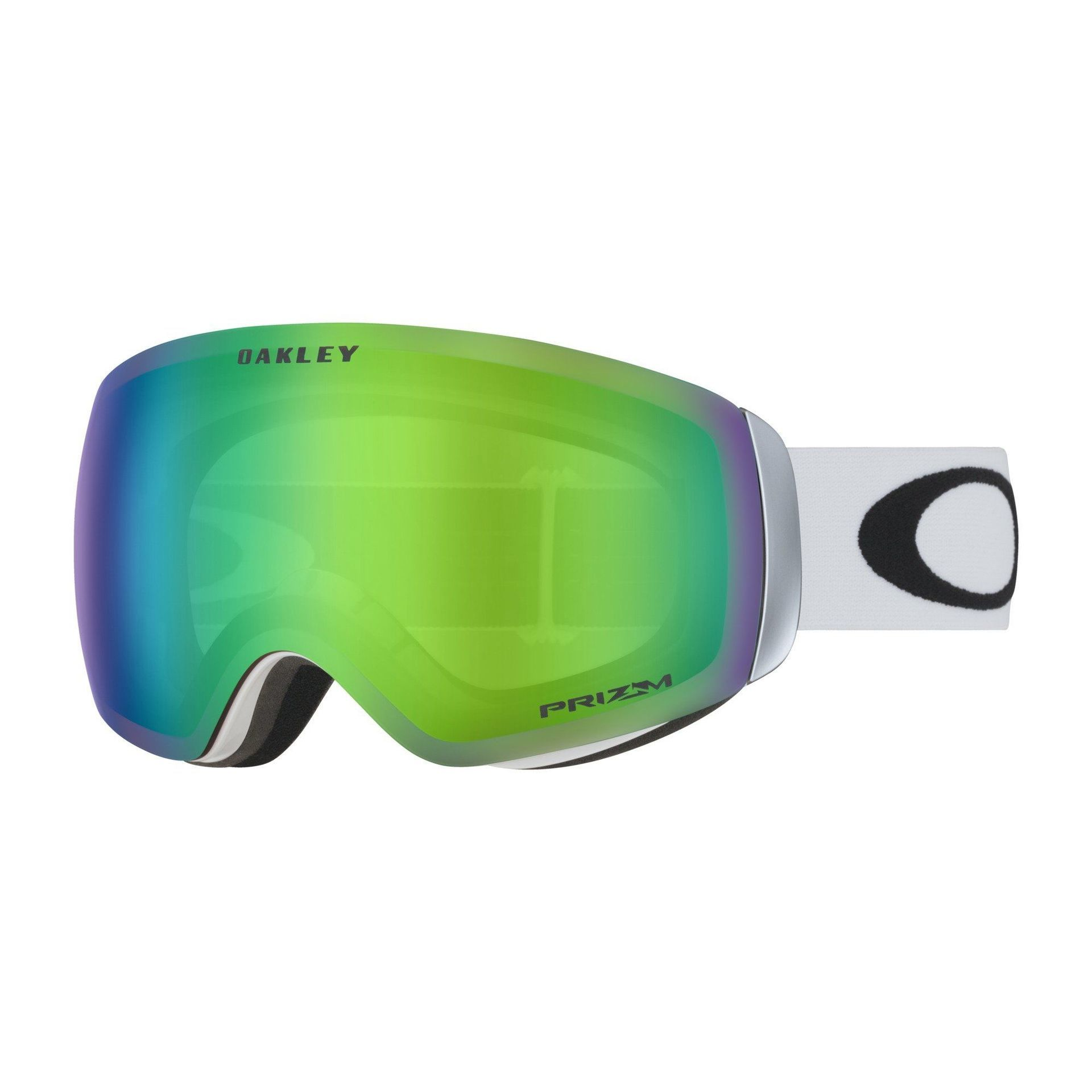 GOGLE OAKLEY FLIGHT DECK XM MATTE WHITE|PRIZM SNOW JADE IRIDIUM 1