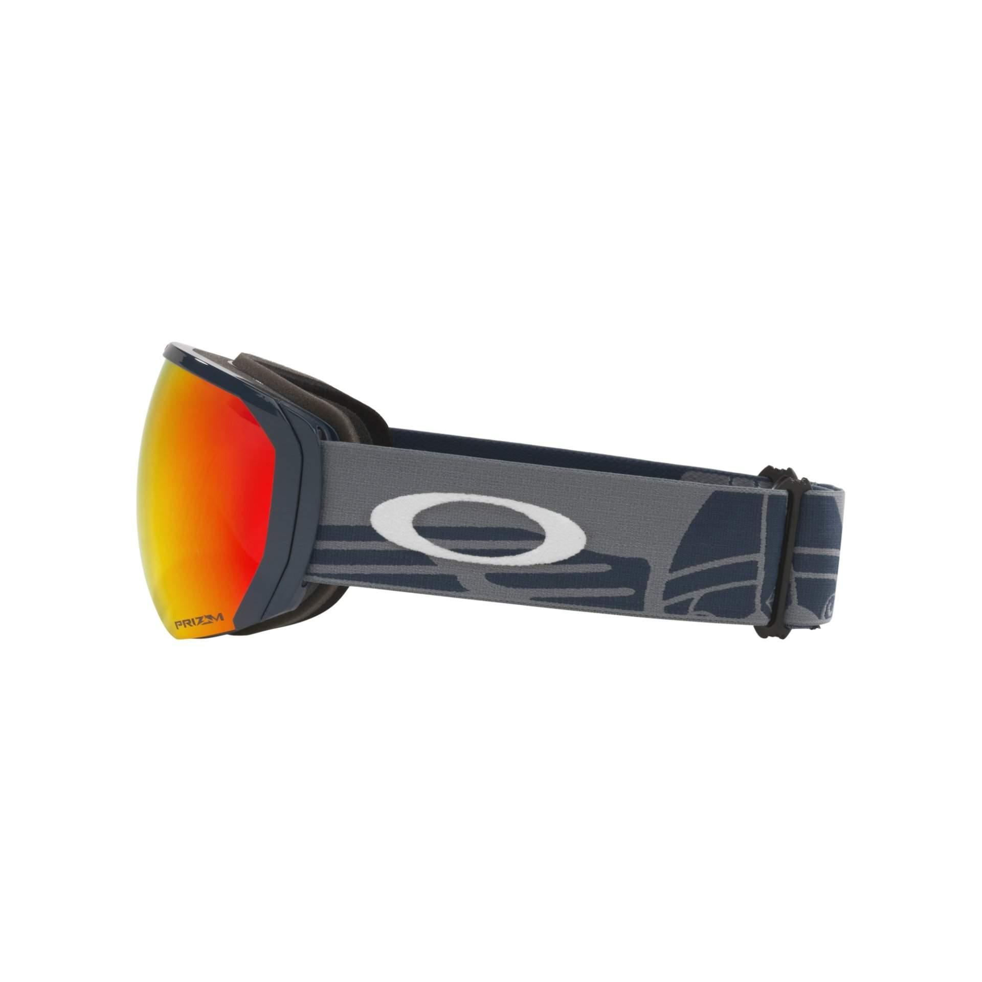 GOGLE OAKLEY FLIGHT PATH XL OO7110 46 VIKING PRIZM SNOW TORCH IRIDIUM Z BOKU