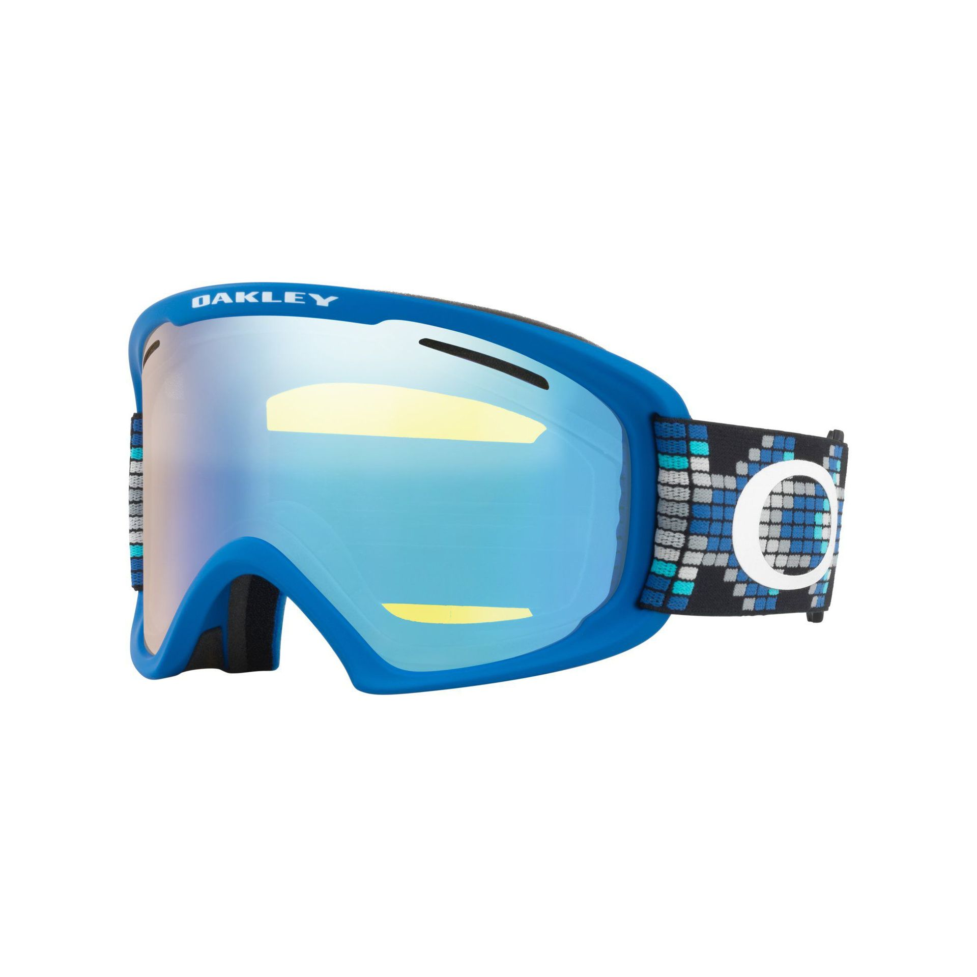 GOGLE OAKLEY O FRAME 2.0 XL DIGI SNAKE IRON BLUE|HIGH INTENSITY YELLOW