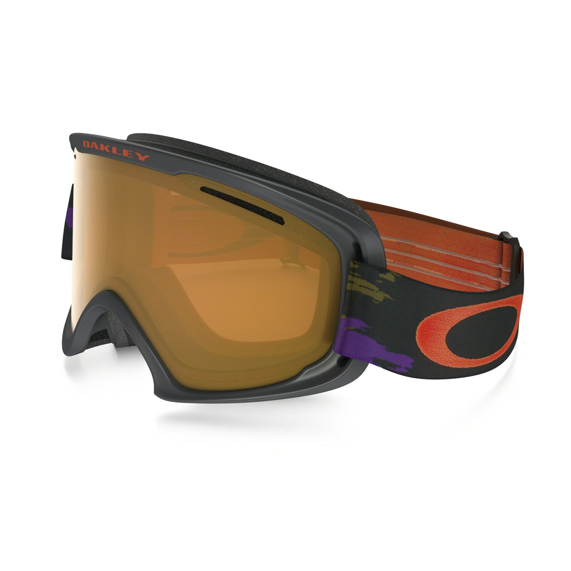 GOGLE OAKLEY O2 XL DISTRESSED PAINT PURPLE IRON PERSIMMON