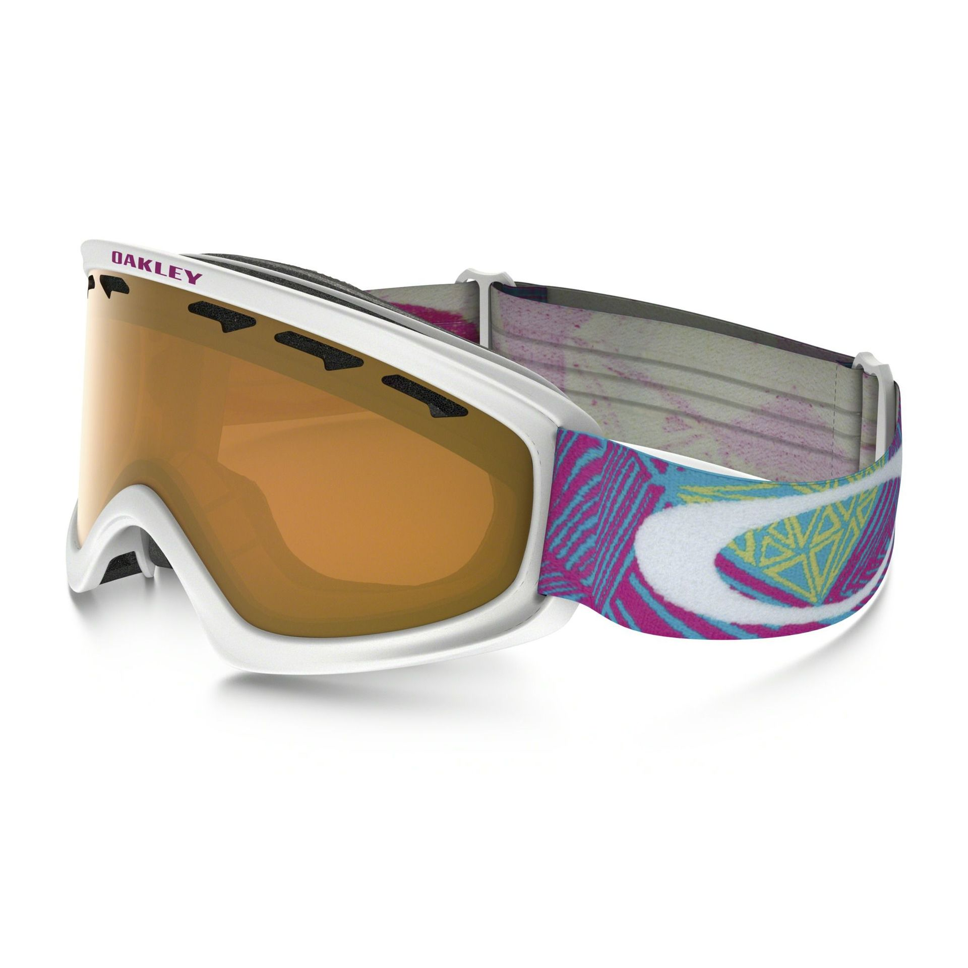 GOGLE OAKLEY O2 XS GEO CHAOS NEON PINK PERSIMMON