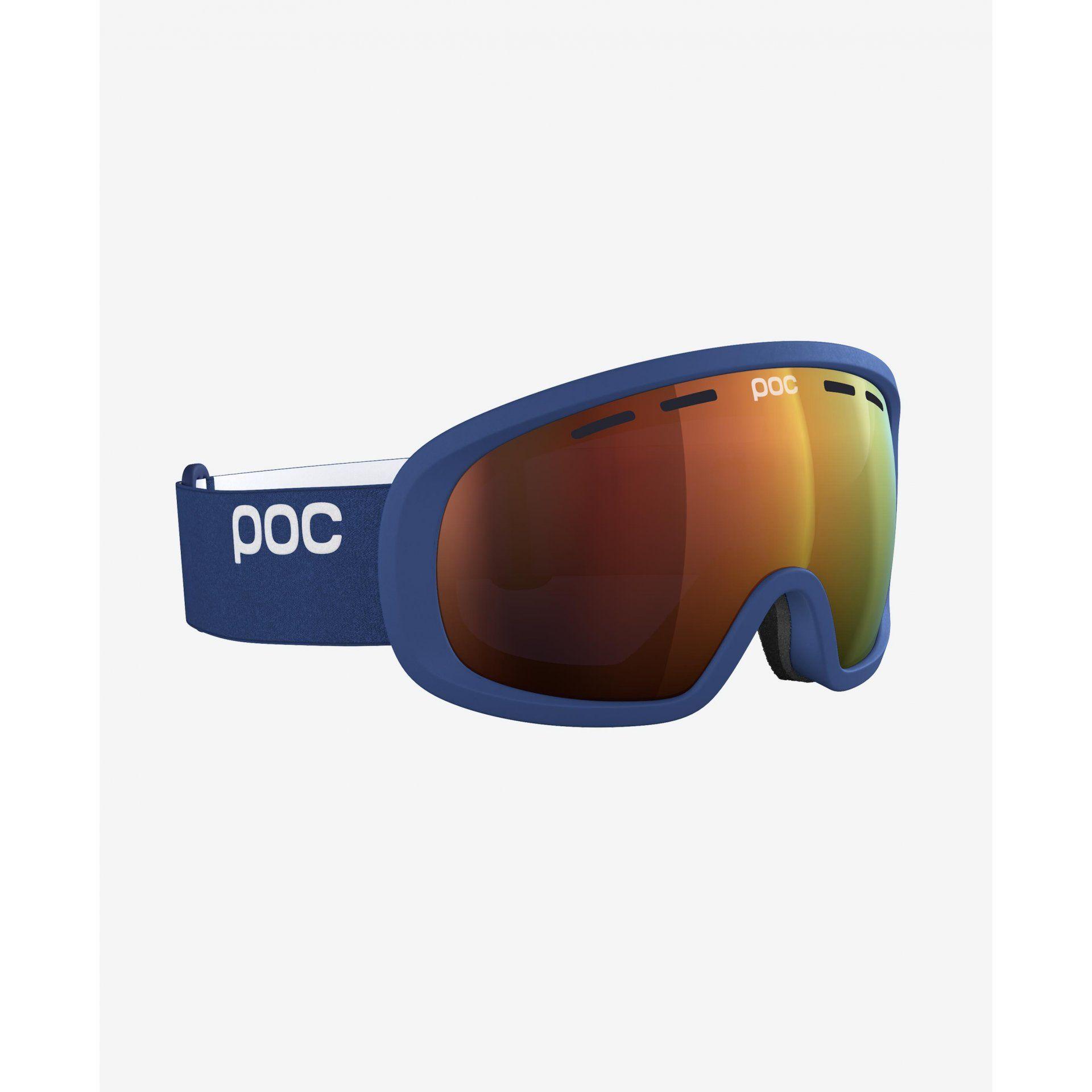 GOGLE POC FOVEA MID CLARITY LEAD BLUE SPEKTRIS ORANGE 40408-8270 4