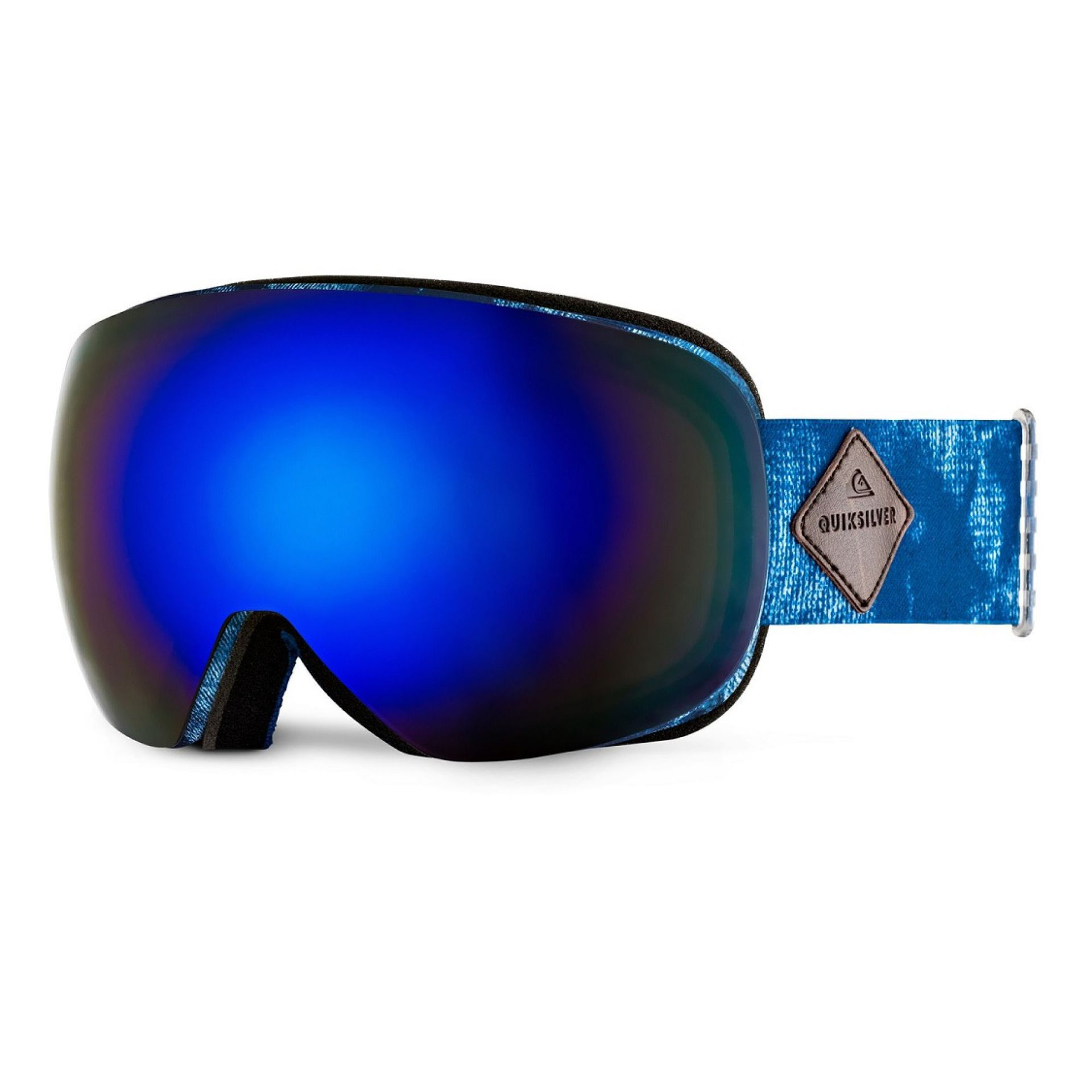 GOGLE QUIKSILVER QS-R HIGHDYE BLUE|AMBER ROSE ML BLUE
