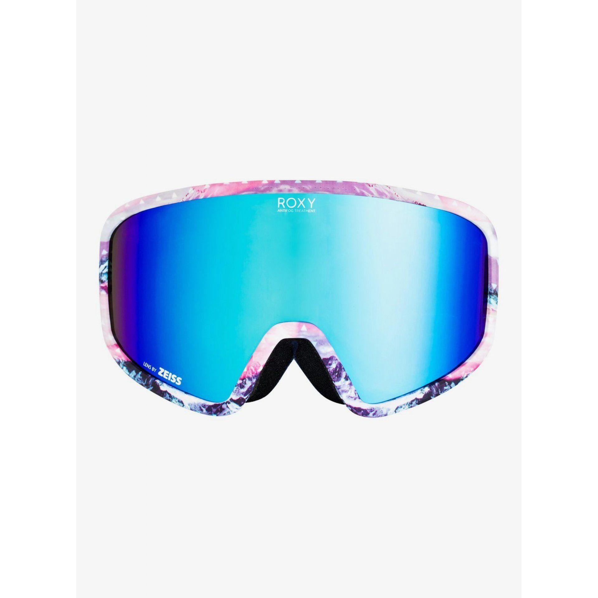 GOGLE ROXY FEENITY 2021 ERJTG03130 BRIGHT WHITE PYRENNES SONAR ML BLUE WBB4 PRZÓD