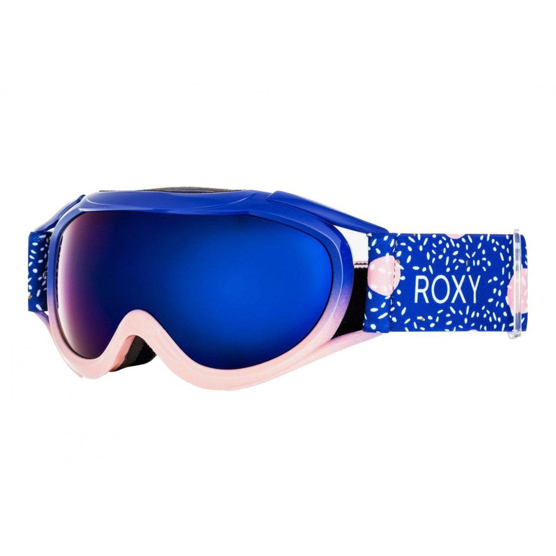 GOGLE ROXY LOOLA 2.0 2021 ERGTG03015 MAZARINE BLUE TASTY HOUR|VERMILLON ML BLUE PRR4