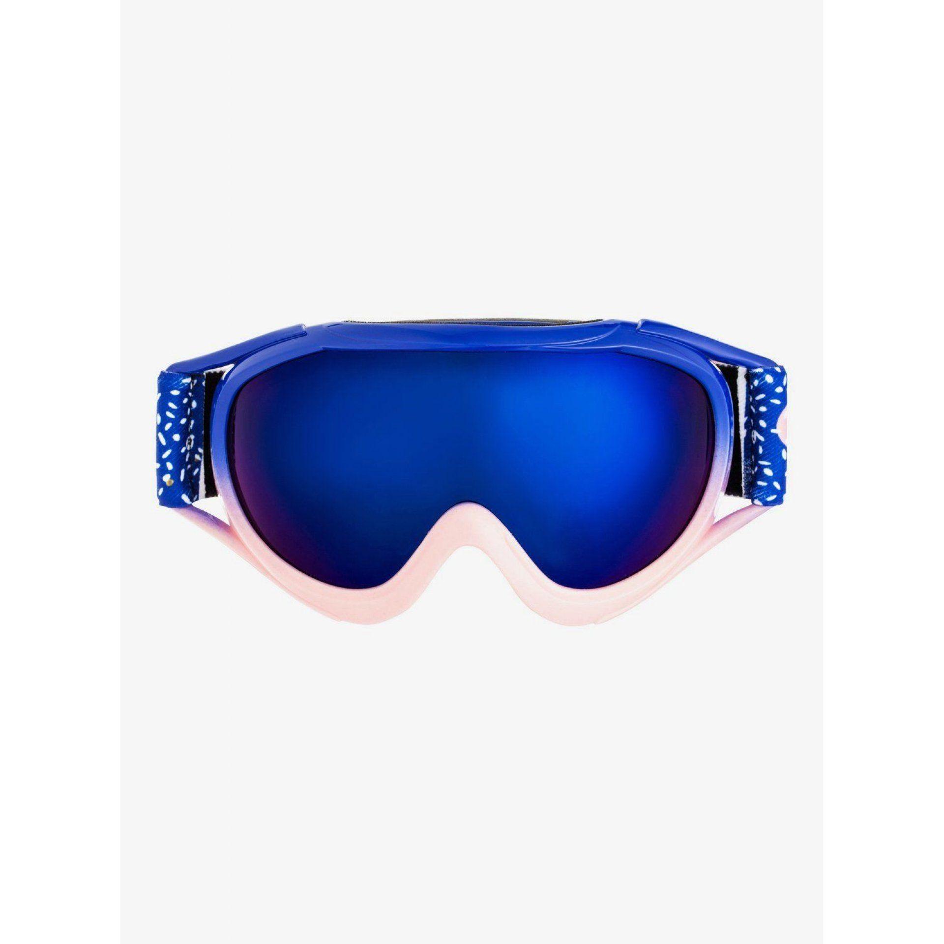 GOGLE ROXY LOOLA 2.0 2021 ERGTG03015 MAZARINE BLUE TASTY HOUR|VERMILLON ML BLUE PRR4 PRZÓD