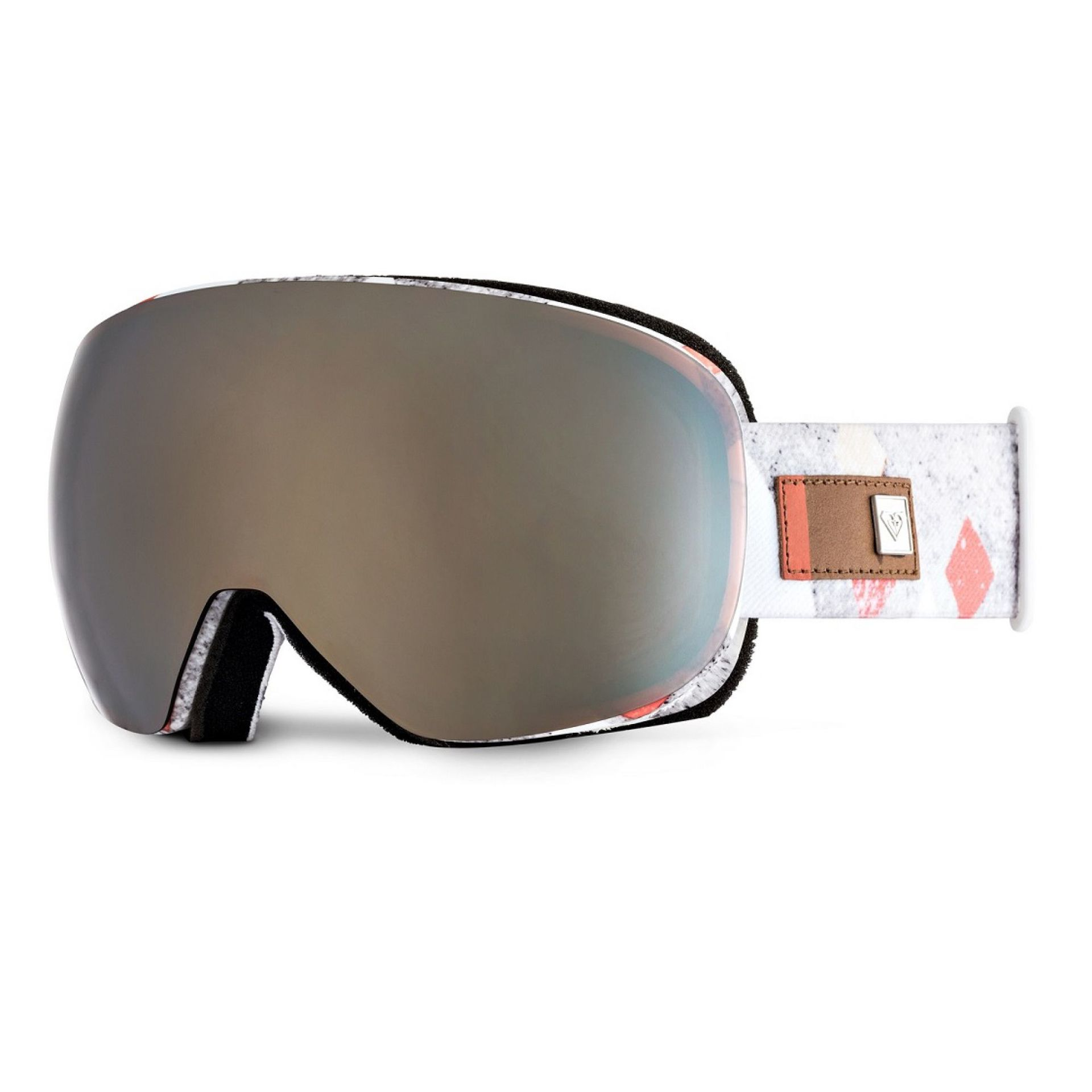 GOGLE ROXY POPSCREEN FROZEN MOUNTAIN|AMBER ROSE ML GOLD