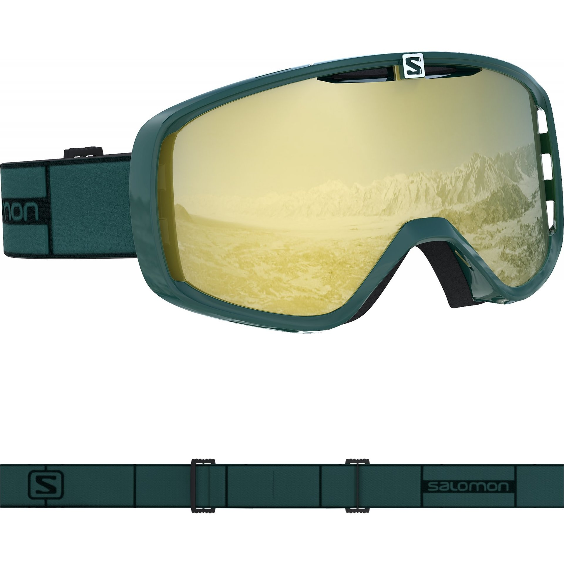 GOGLE SALOMON AKSIUM GREEN GABLE|BRONZE L408452