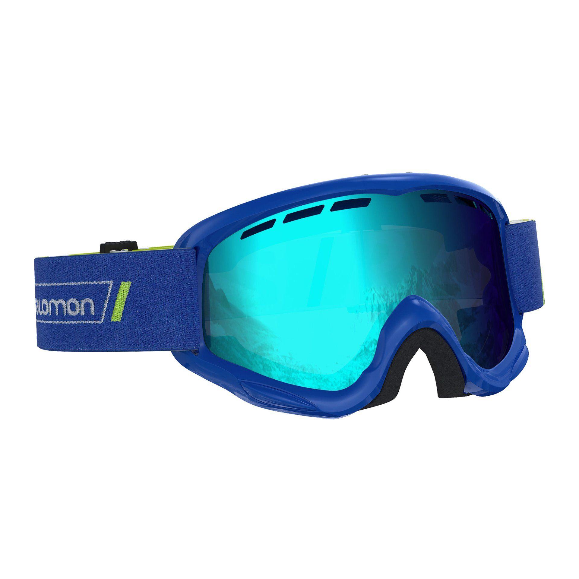 GOGLE SALOMON JUKE RACE BLUE|MID BLUE L40517900