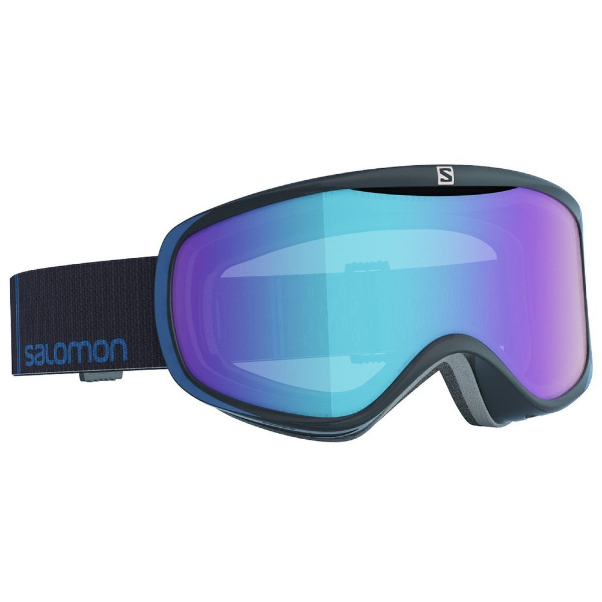 GOGLE SALOMON SENSE PHOTO BLACK BLUE