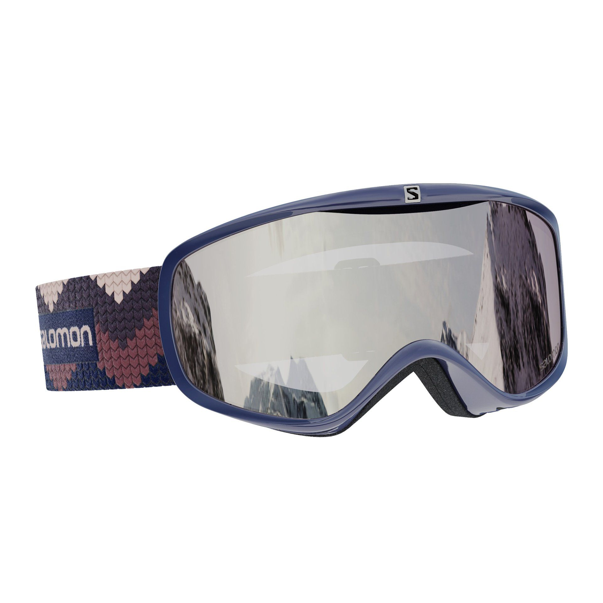 GOGLE SALOMON SENSE WISTERIA|SUPER WHITE L41149600