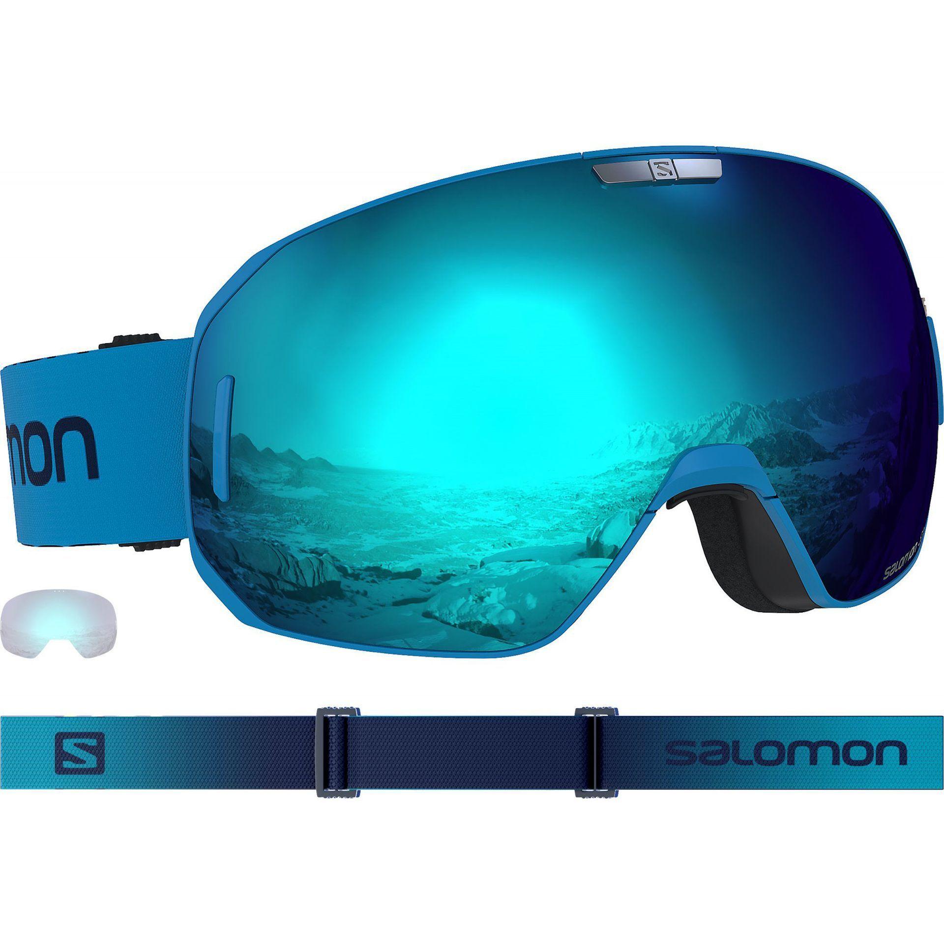 GOGLE SALOMON SMAX HAWAIAN BLUE 405207