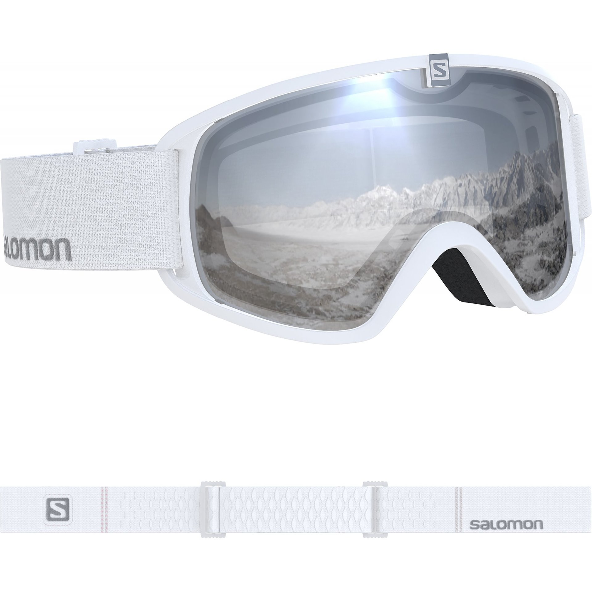 GOGLE SALOMON TRIGGER WHITE|SUPER WHITE L405181