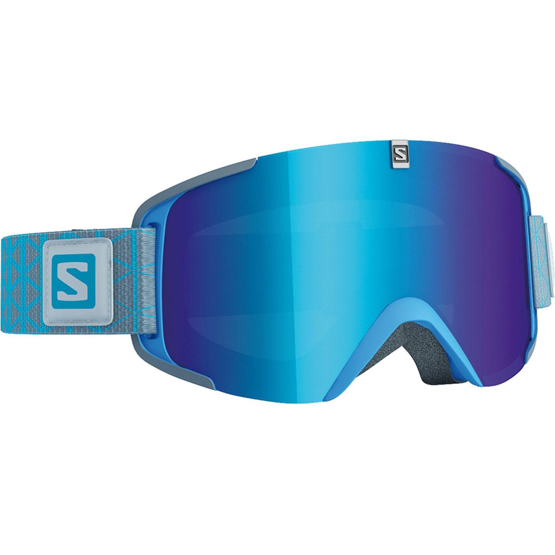 GOGLE SALOMON X VIEW EXTRA BLUE SOLAR BLUE 0