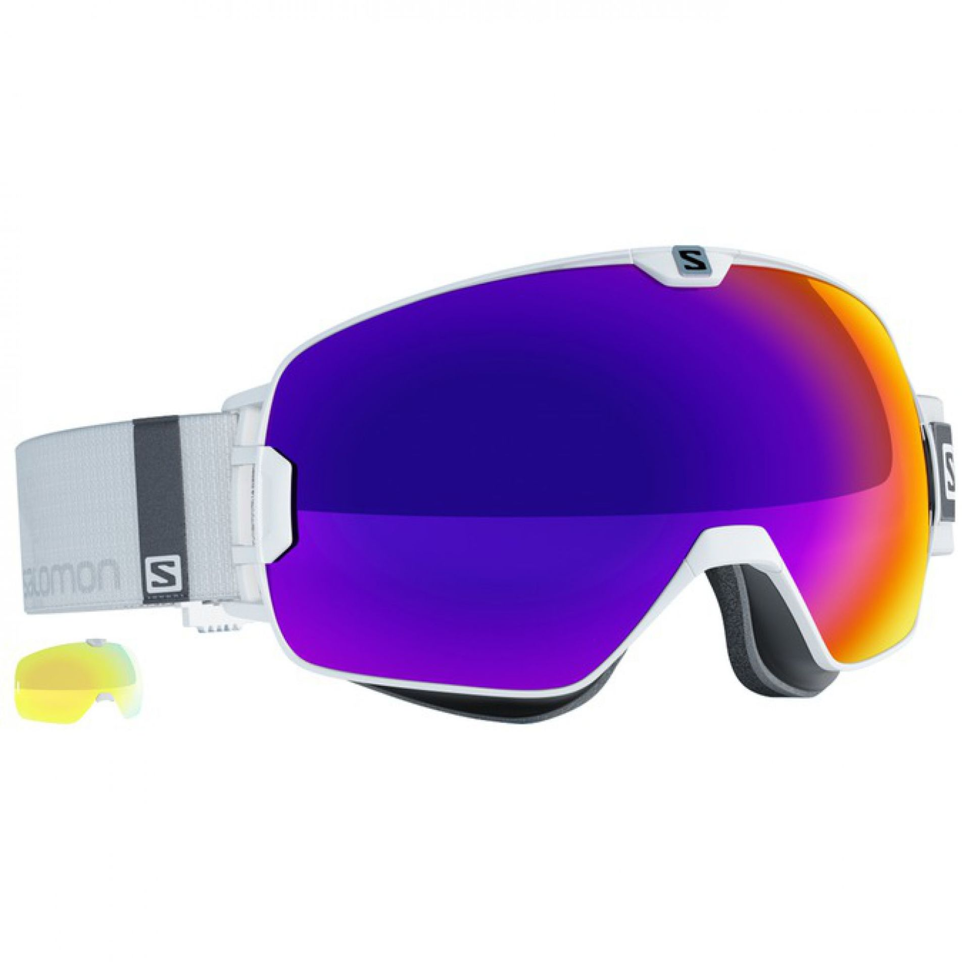 GOGLE SALOMON XMAX WHITE SOLAR INFRARED