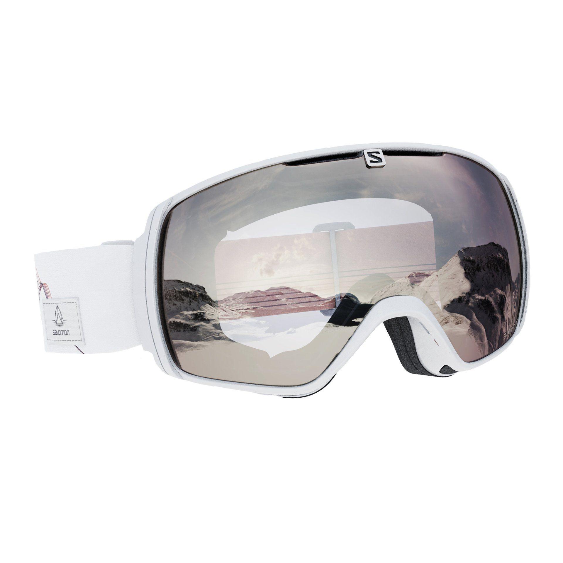 GOGLE SALOMON XT ONE OIL WHITE SUPER WHITE L41150100