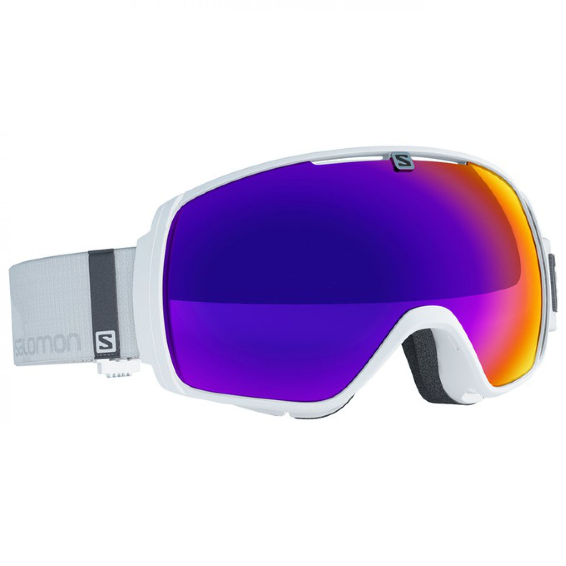GOGLE SALOMON XT ONE WHITE SOLAR INFRARED