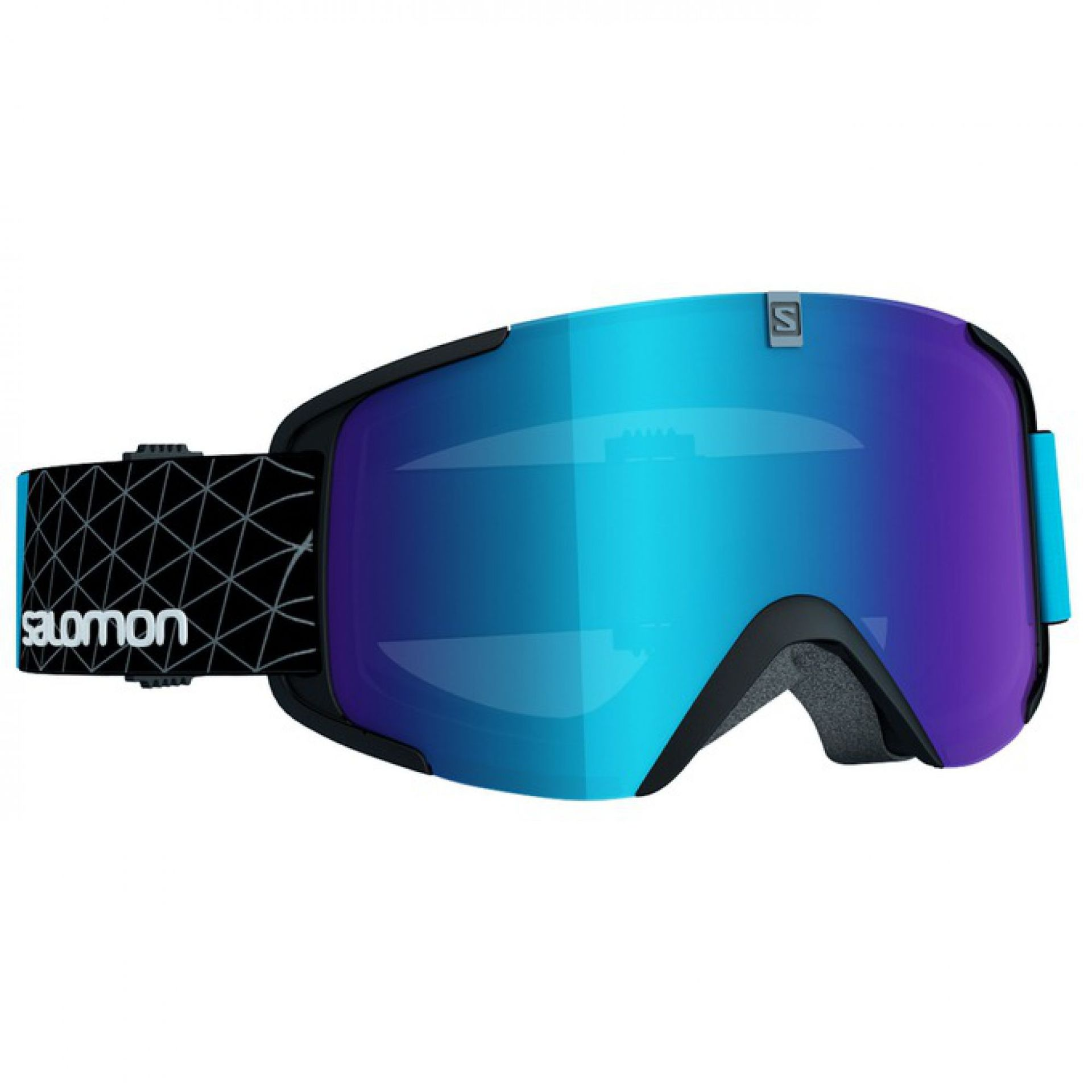 GOGLE SALOMON XVIEW BLACK BLUE