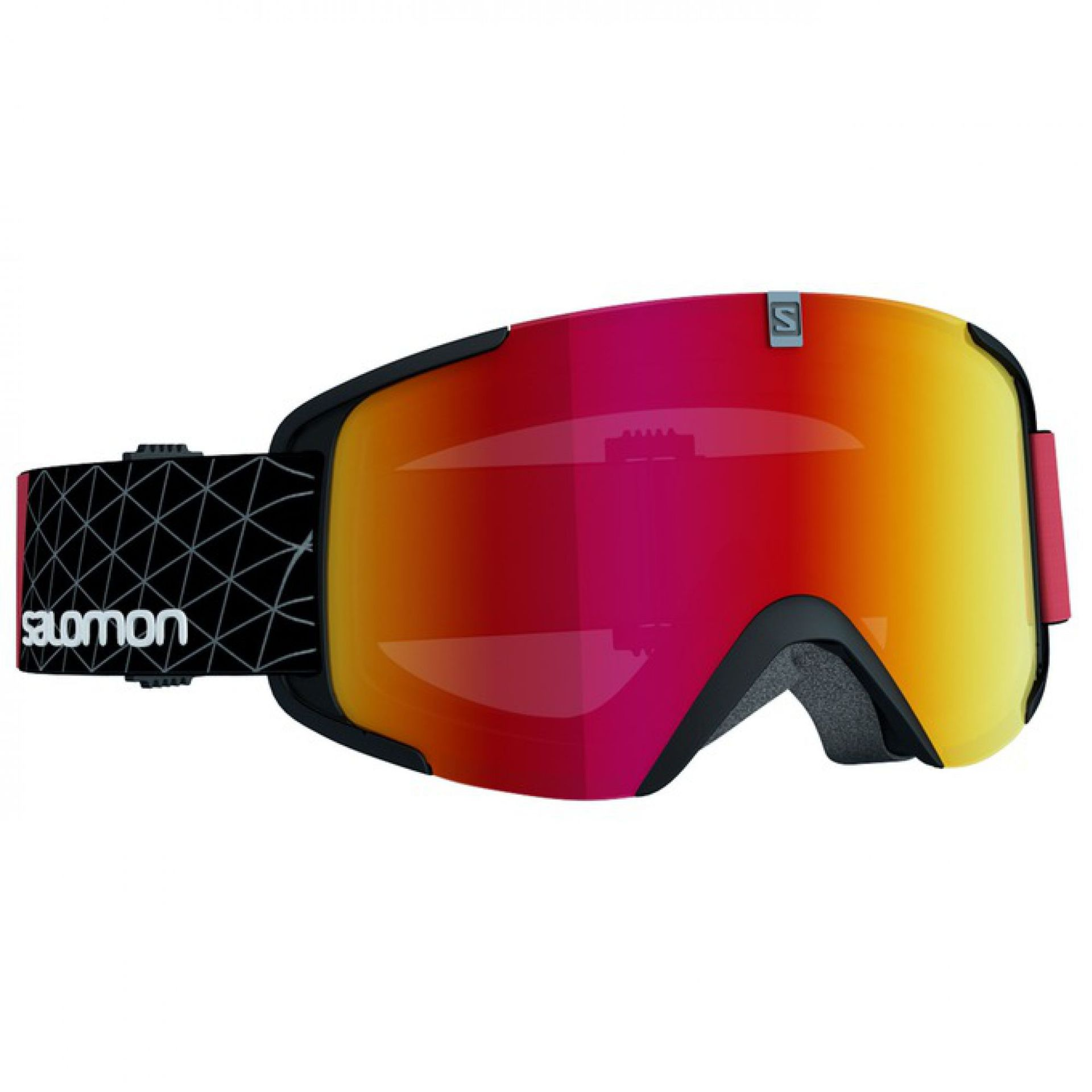 GOGLE SALOMON XVIEW  BLACK RED