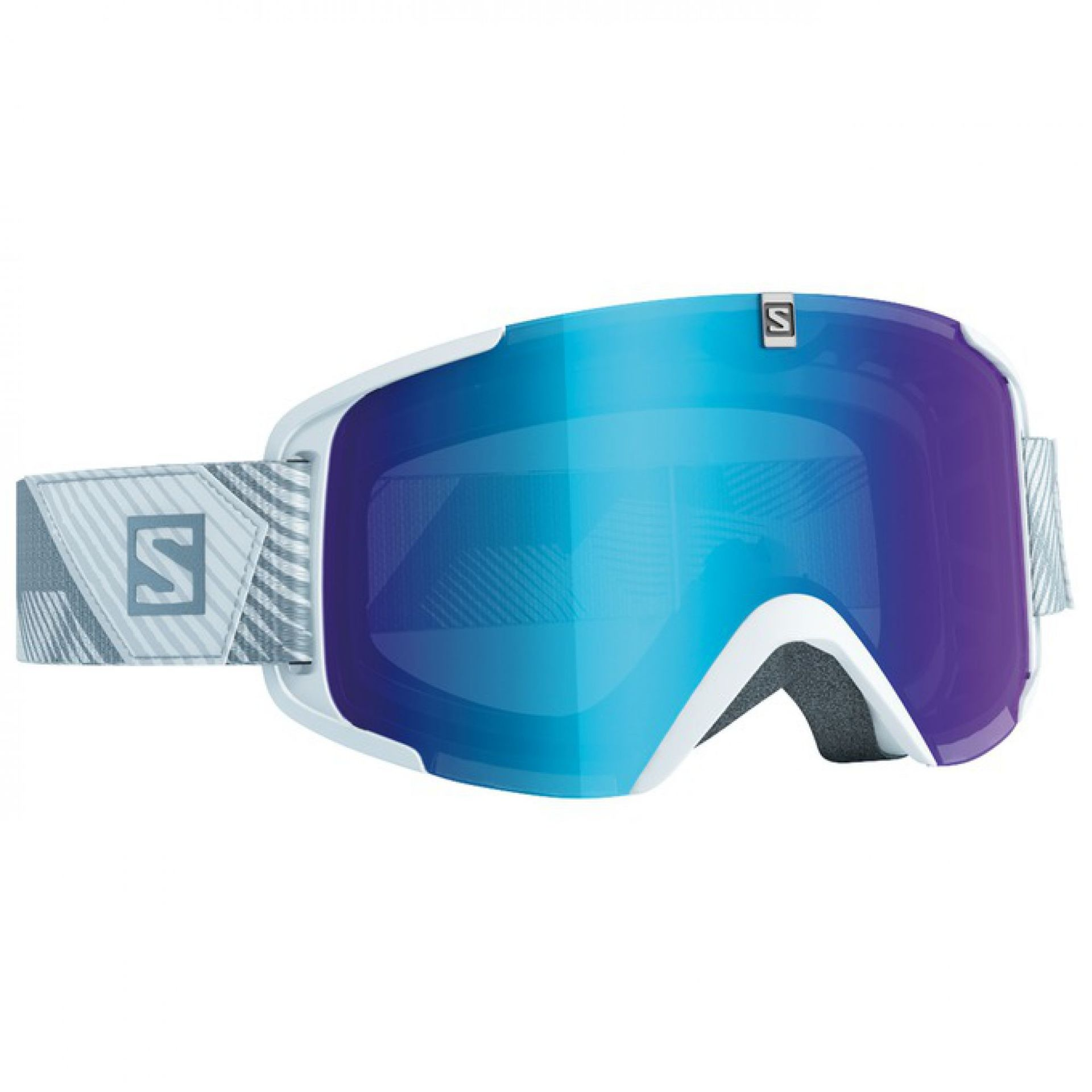 GOGLE SALOMON XVIEW WHITE MID BLUE