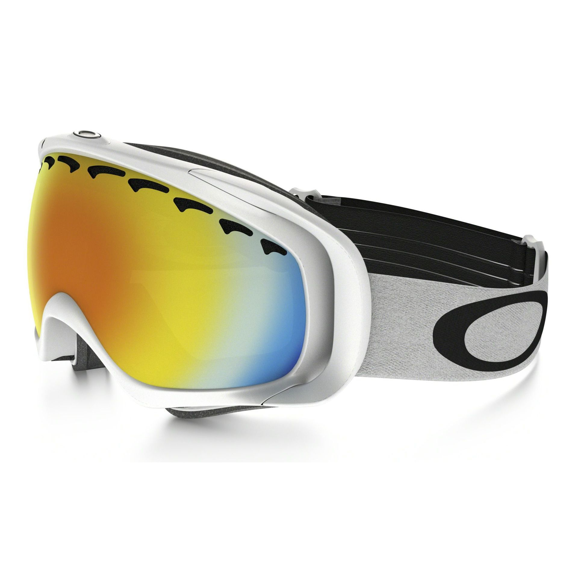 GOGLE SNOW OAKLEY CROWBAR MATTE WHITE|FIRE IRIDIUM