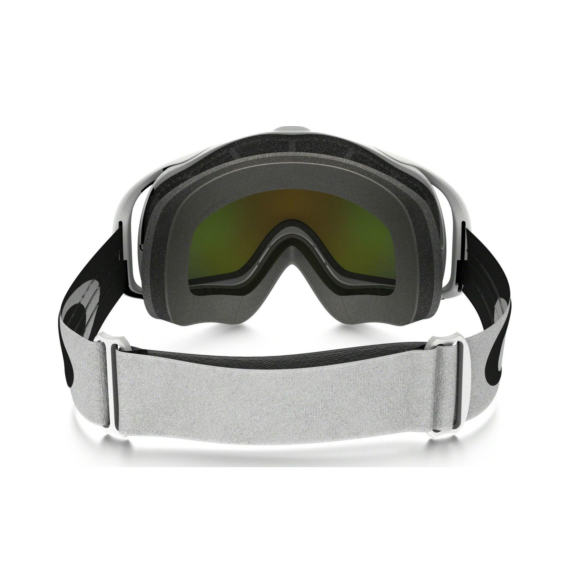 GOGLE SNOW OAKLEY CROWBAR MATTE WHITE|FIRE IRIDIUM 2