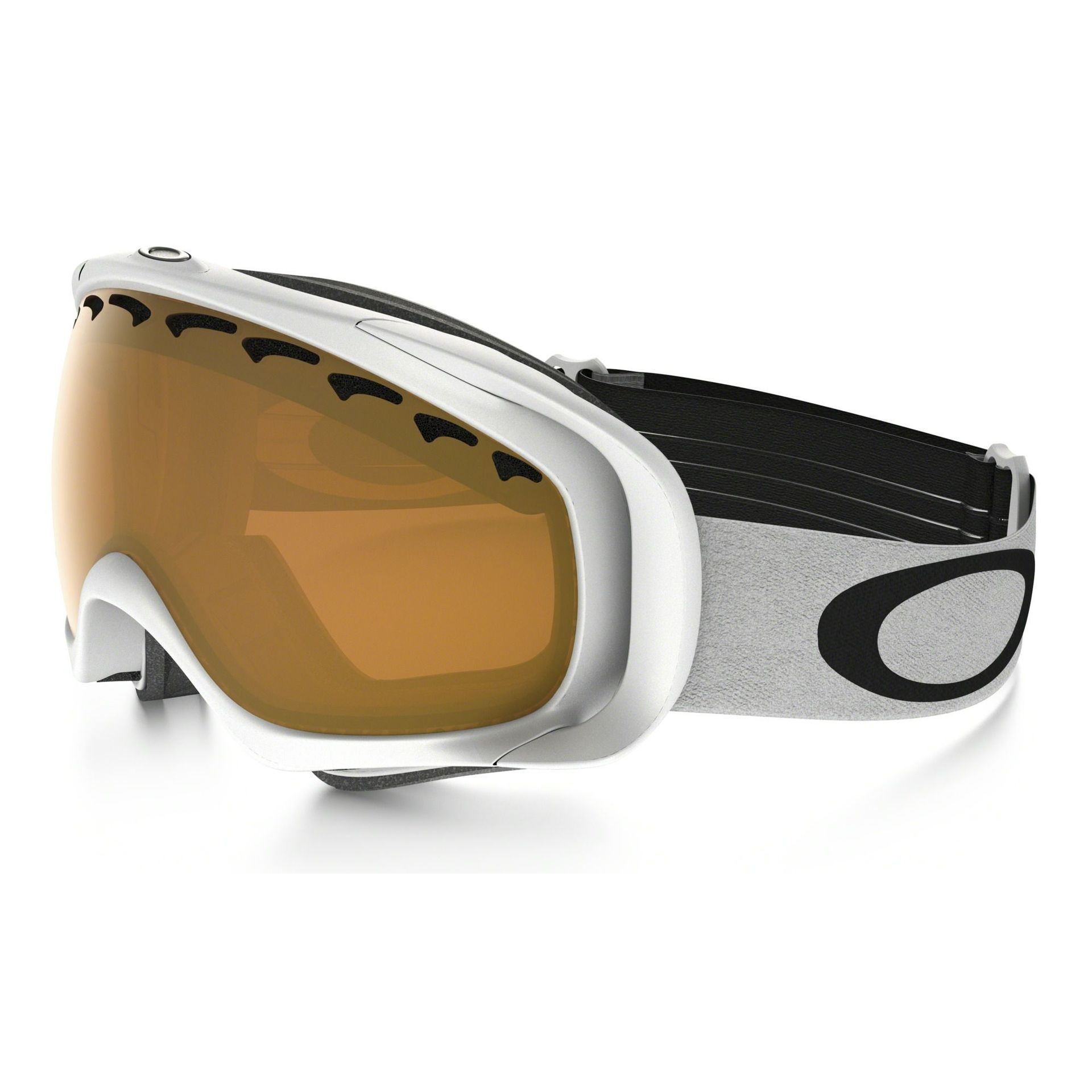 GOGLE SNOW OAKLEY CROWBAR MATTE WHITE|PERSIMMON