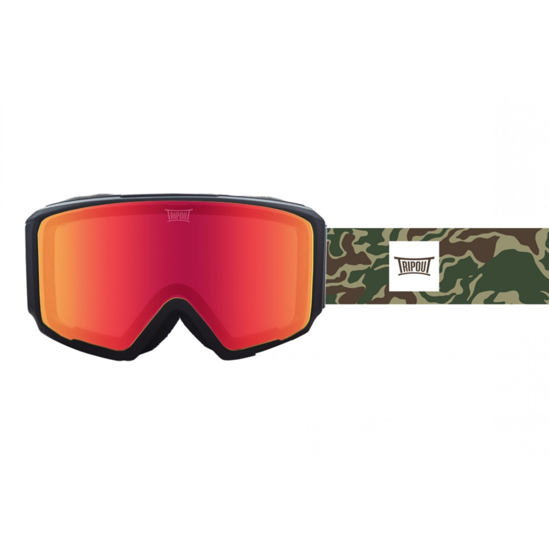 GOGLE TRIPOUT BLAZE CAMO|BLACK|FRESH ORANGE+FOGGY 1