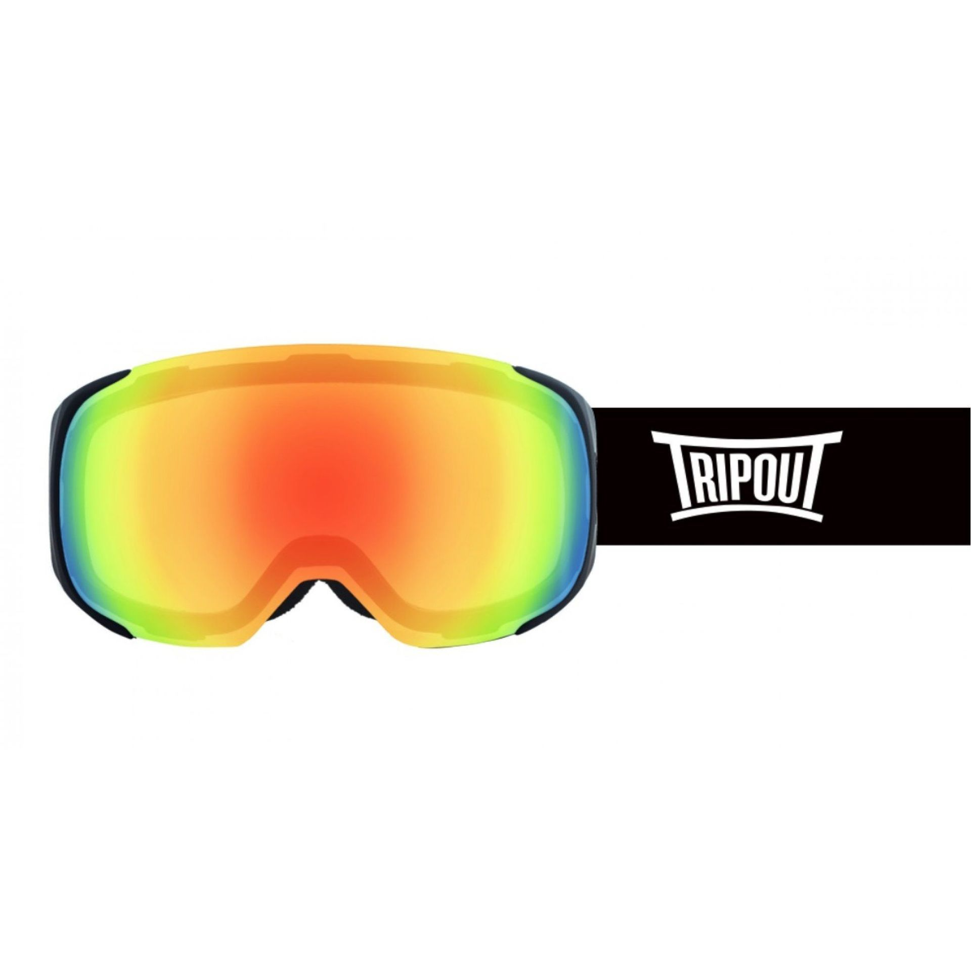 GOGLE TRIPOUT STEEZ BLACK|BLACK|FRESH ORANGE|CLEAR 1